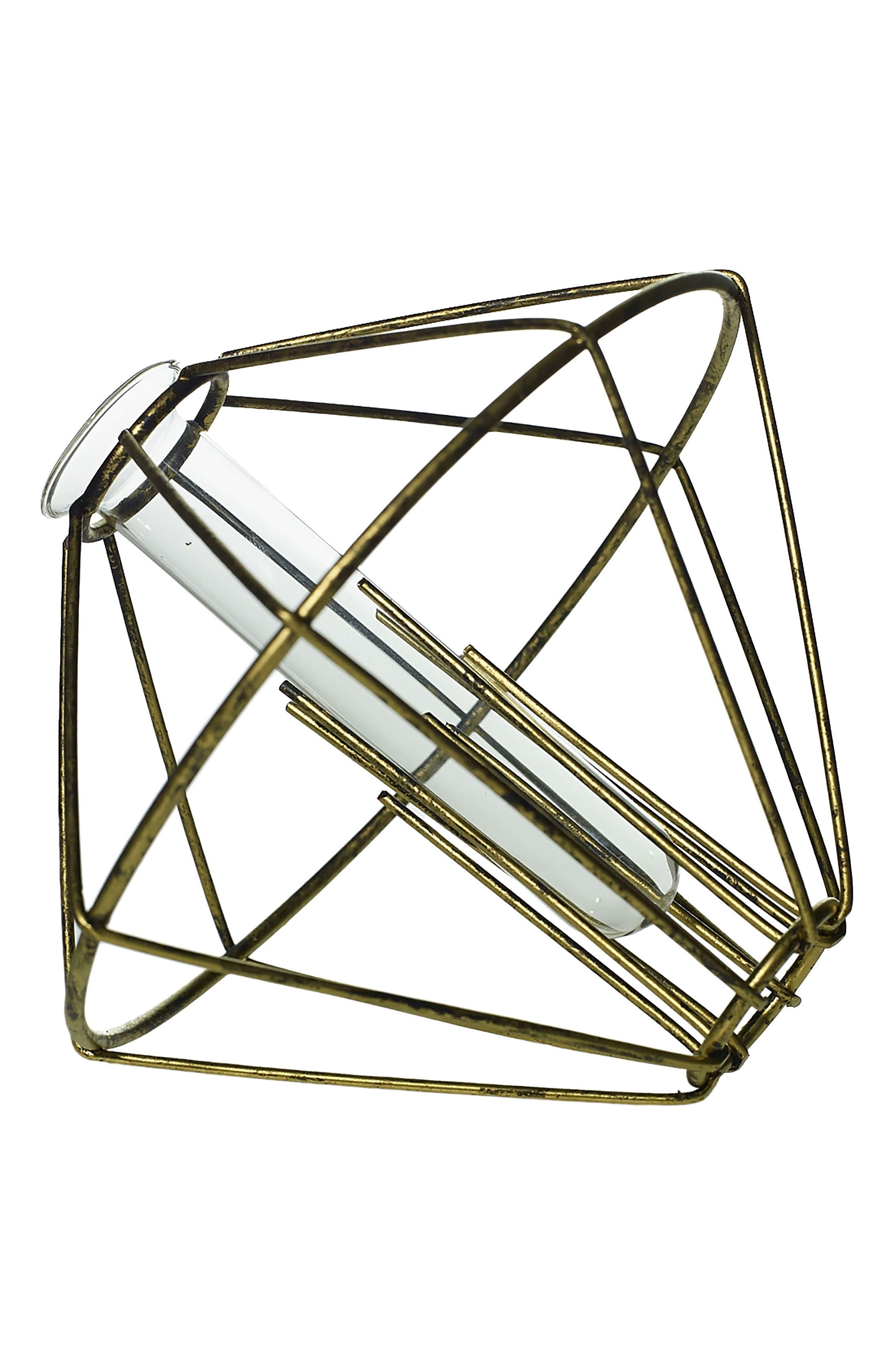 Alternate Image 1 Selected - Accent Decor Diamond Bud Vase