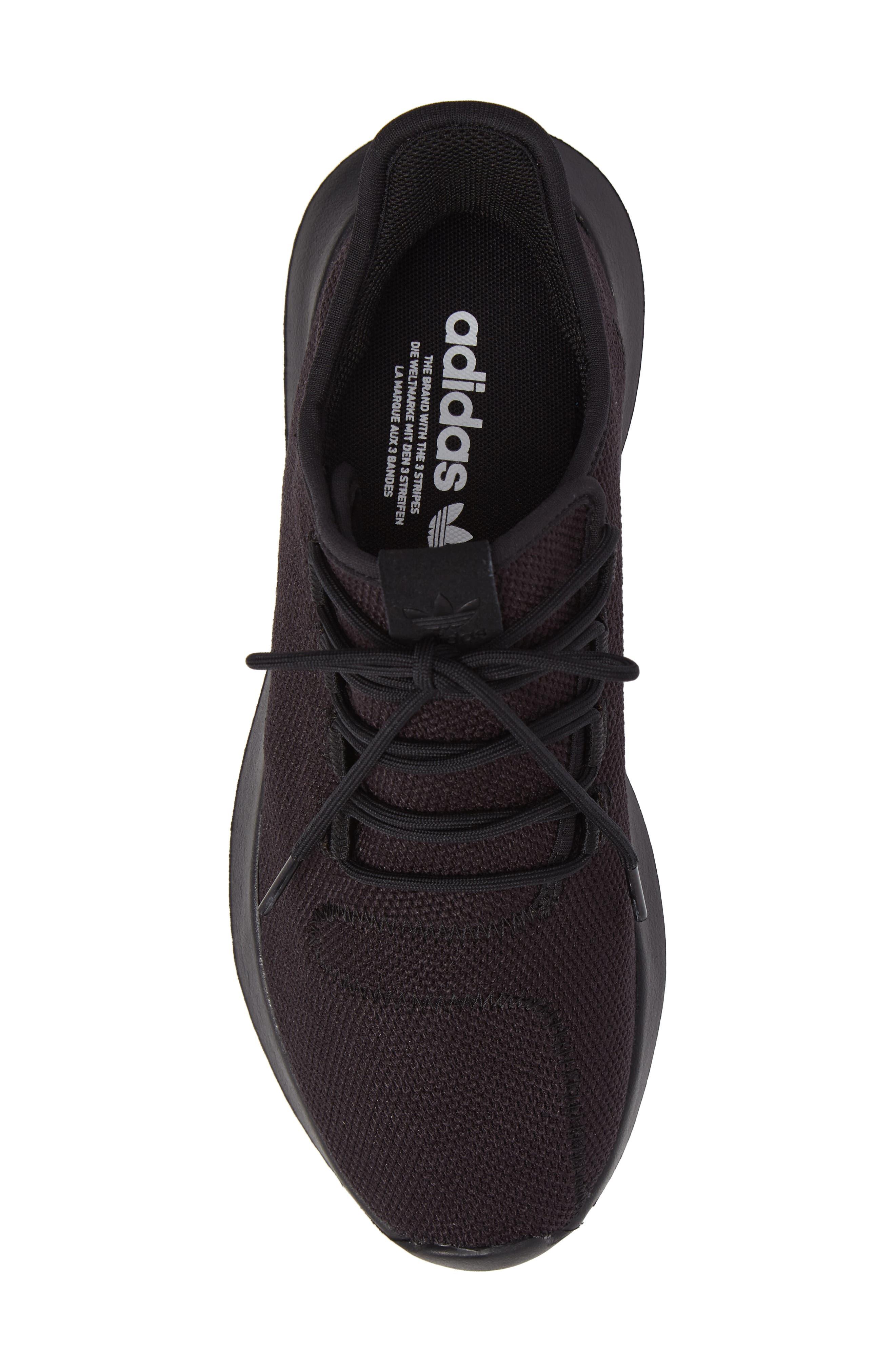 Tubular Shadow Sneaker,                             Alternate thumbnail 5, color,                             Core Black/ White/ Core Black