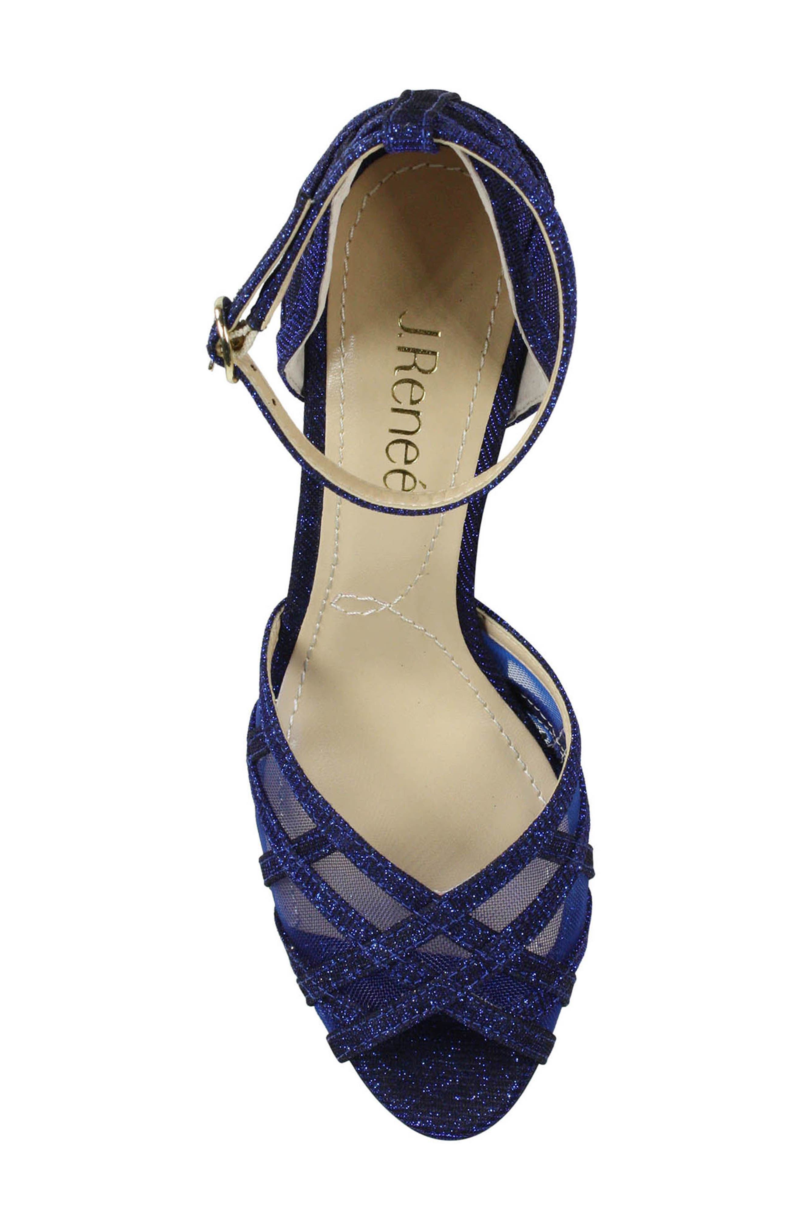 Alternate Image 5  - J. Reneé Mataro Embellished Ankle Strap Pump (Women)