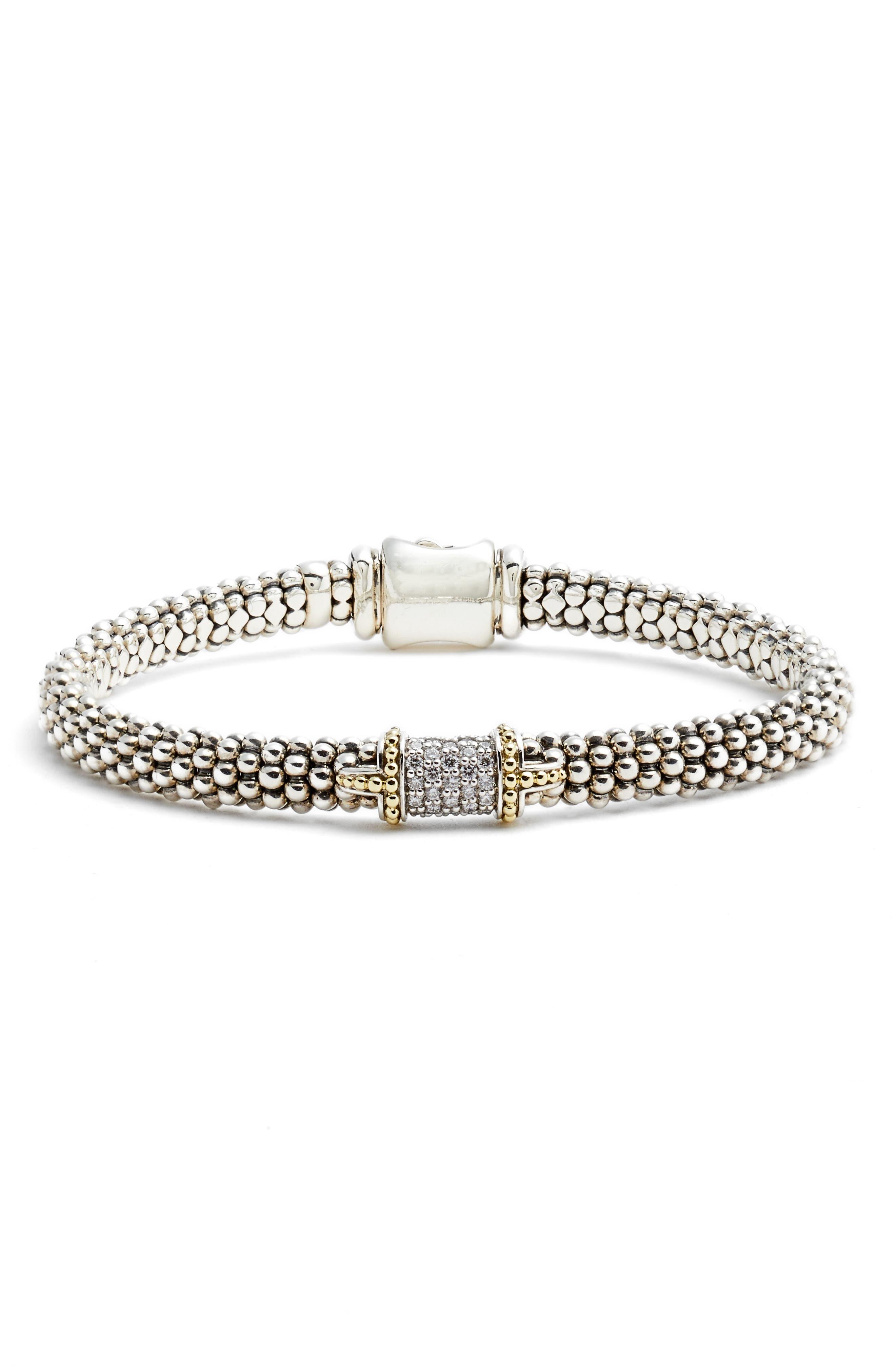 LAGOS Diamond Caviar Bracelet