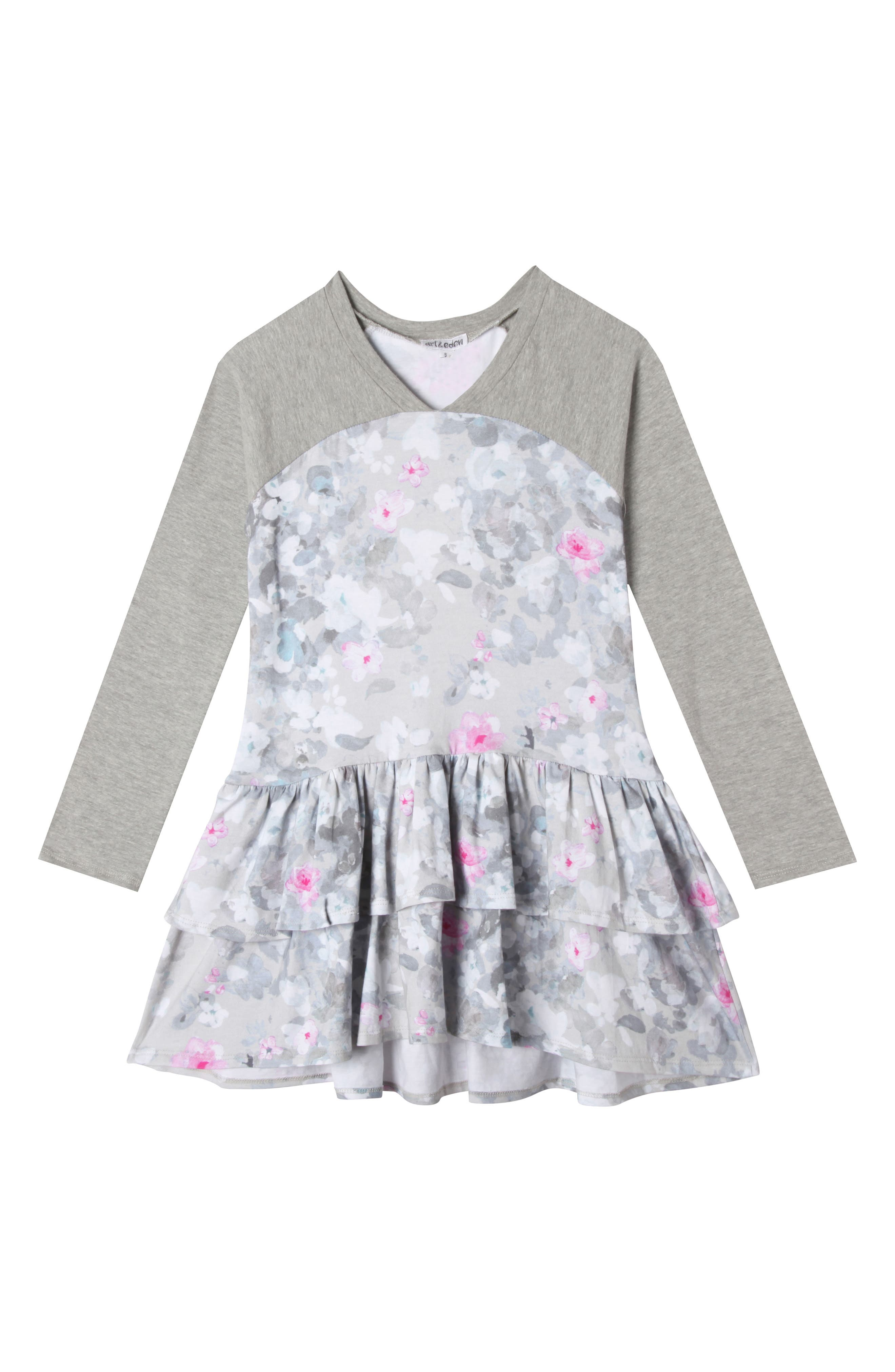 Main Image - Art & Eden Julia Dress (Toddler Girls & Little Girls)