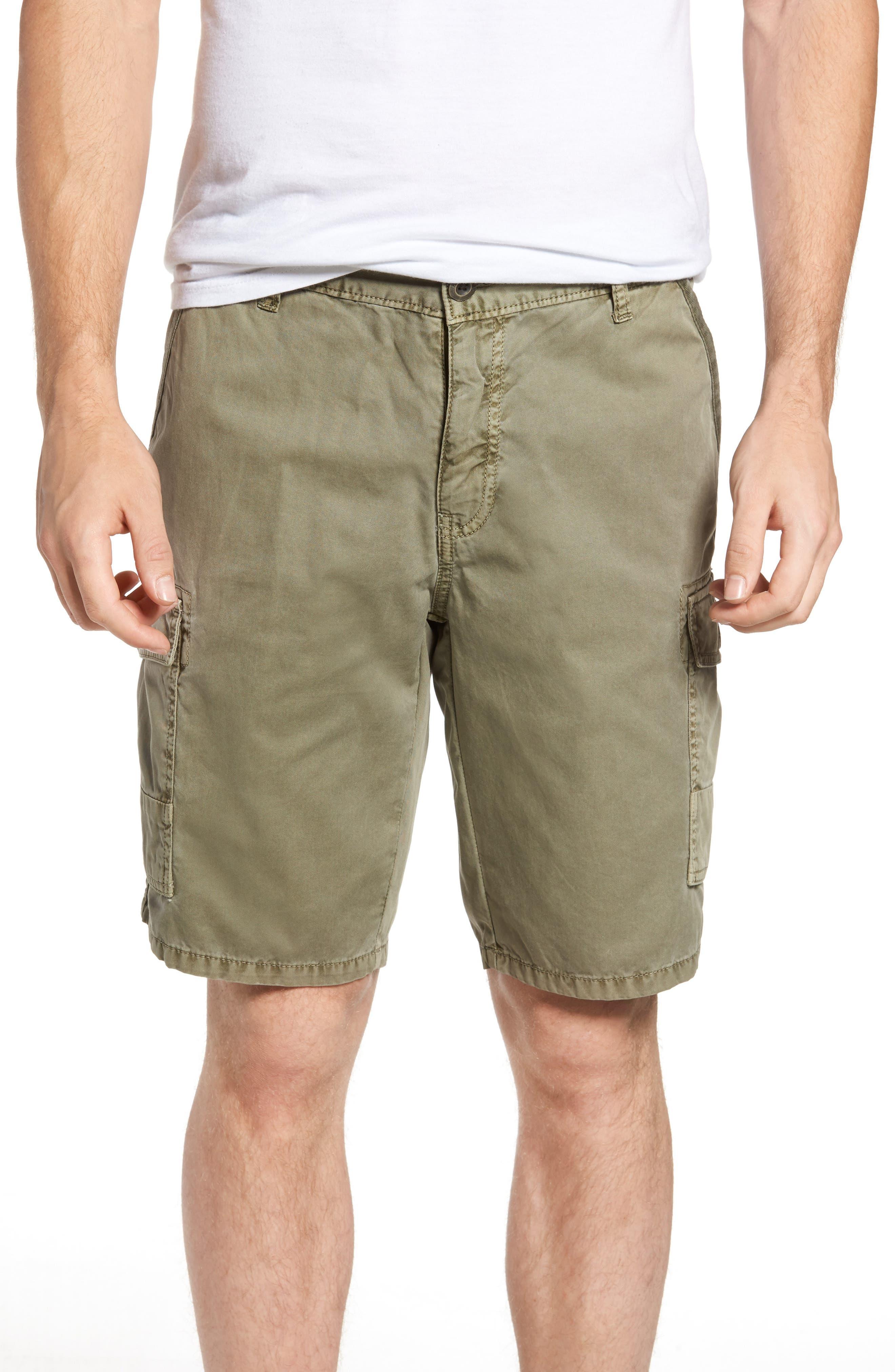'Newport' Cargo Shorts,                             Main thumbnail 1, color,                             Olive