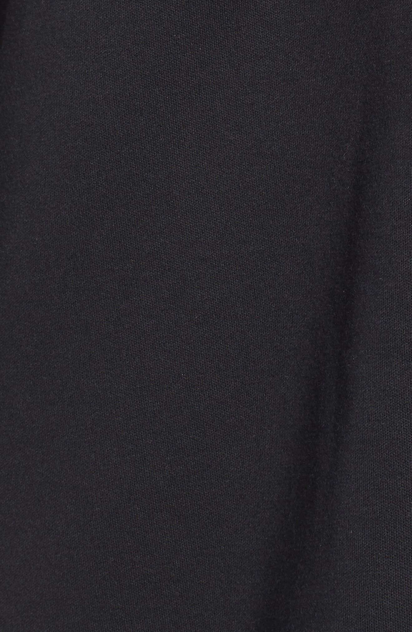 Lacing Midlayer Jacket,                             Alternate thumbnail 5, color,                             Puma Black