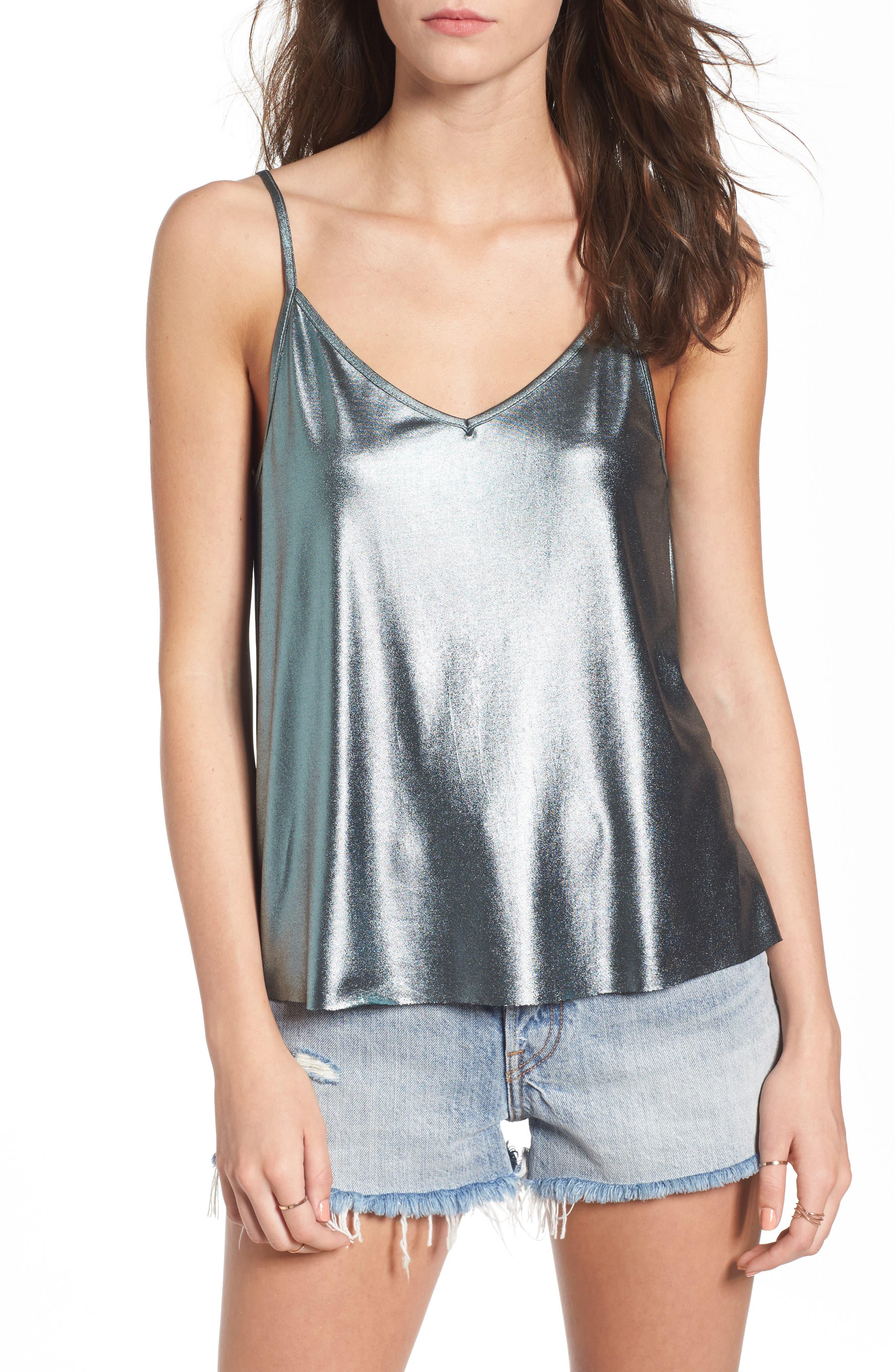 Main Image - Elodie Metallic Camisole