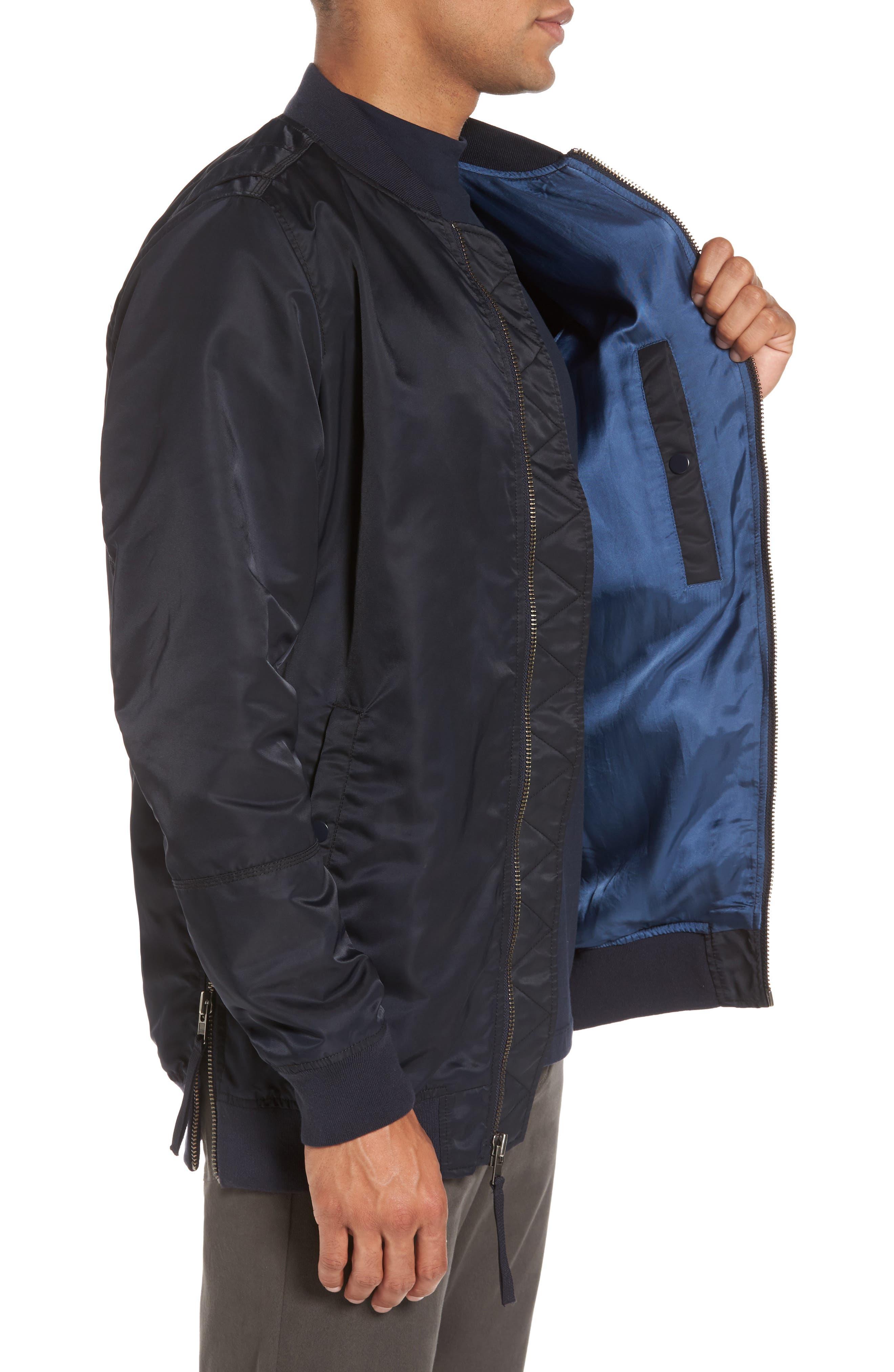 Alternate Image 3  - Vince Longline Aviator Jacket