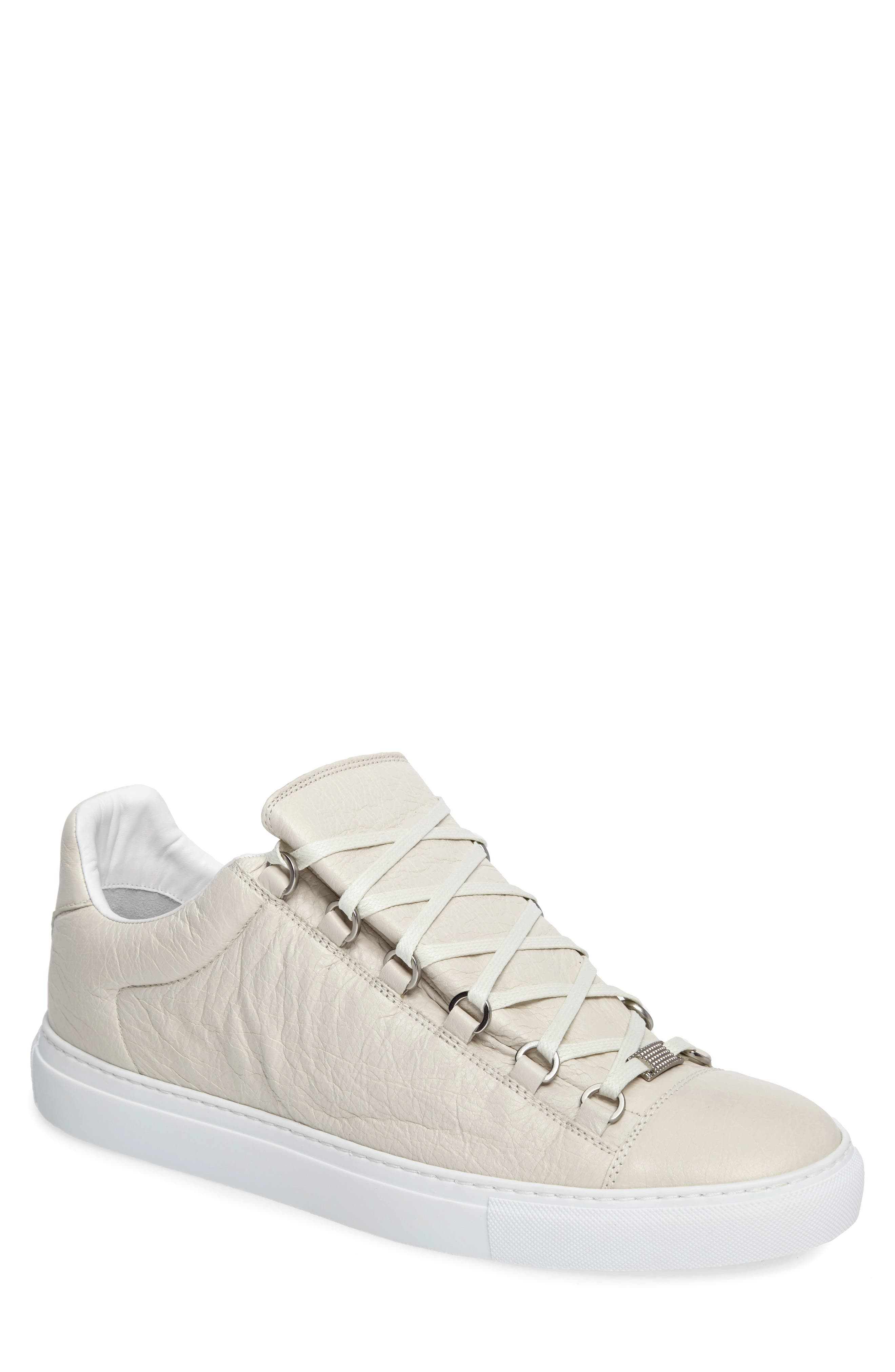 Arena Low Sneaker,                             Main thumbnail 1, color,                             Extra Blanc Leather