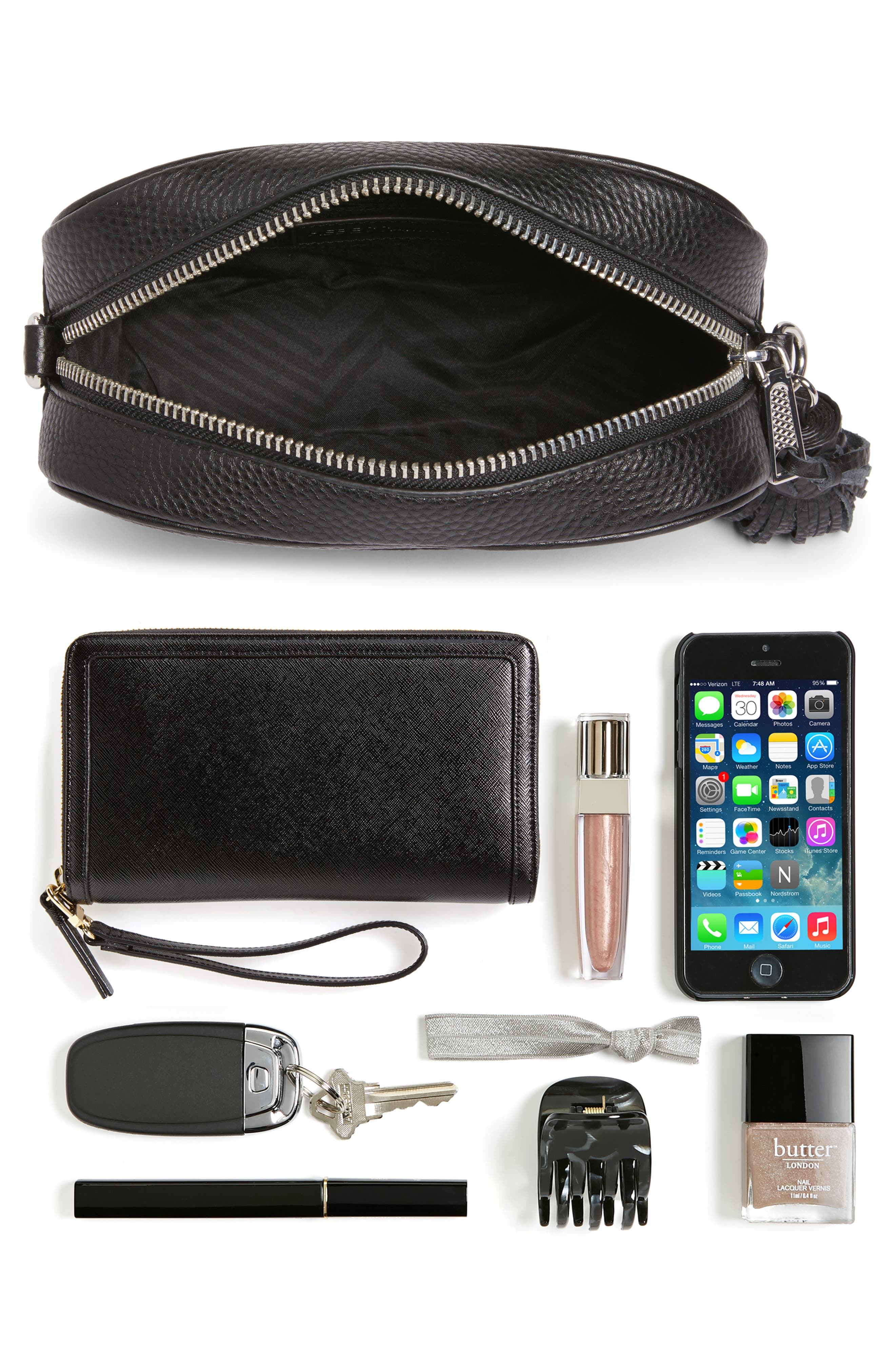 Alternate Image 8  - Rebecca Minkoff Leather Camera Bag with Guitar Strap (Nordstrom Exclusive)