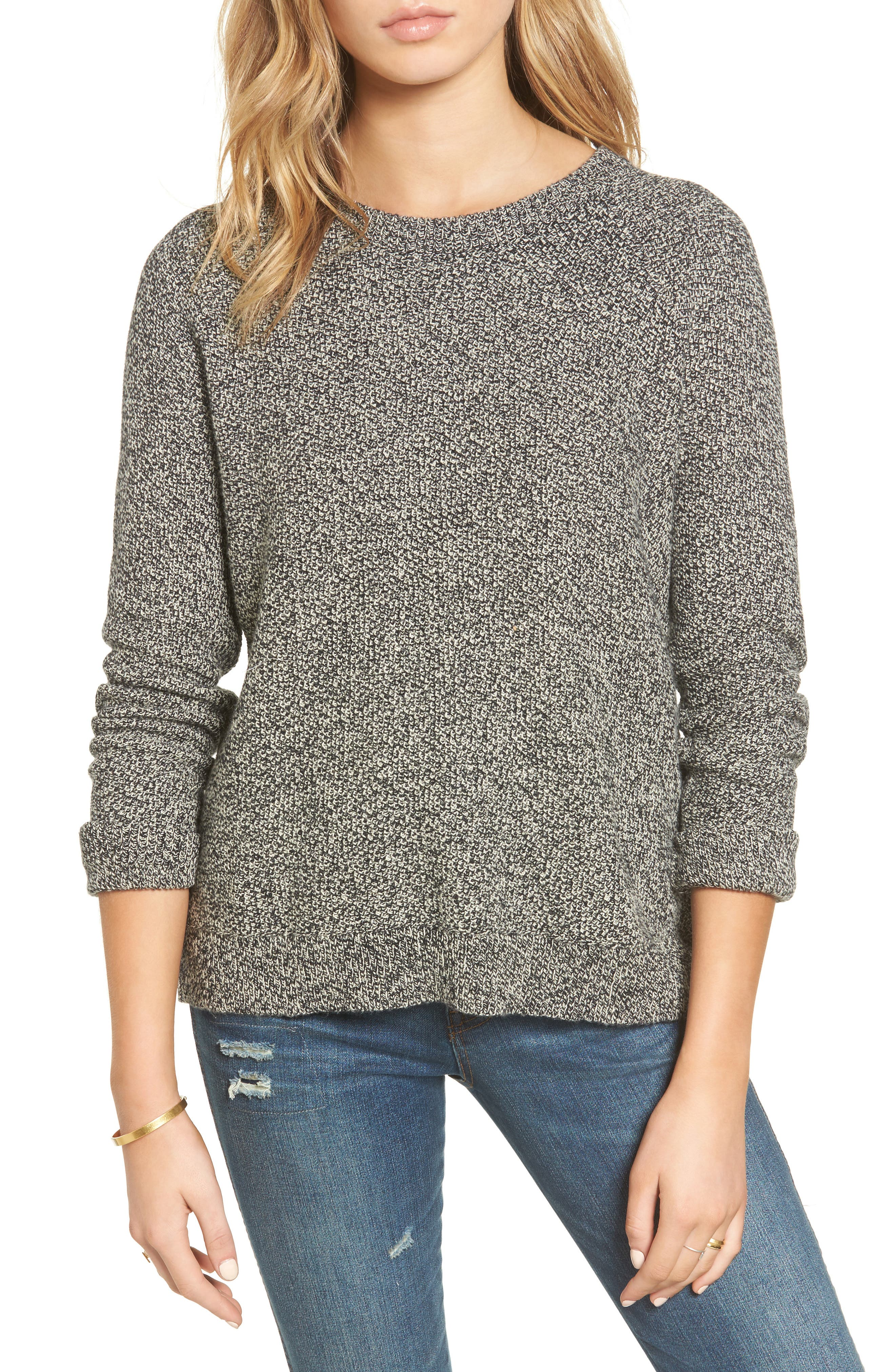 MADEWELL Cross Back Knit Pullover