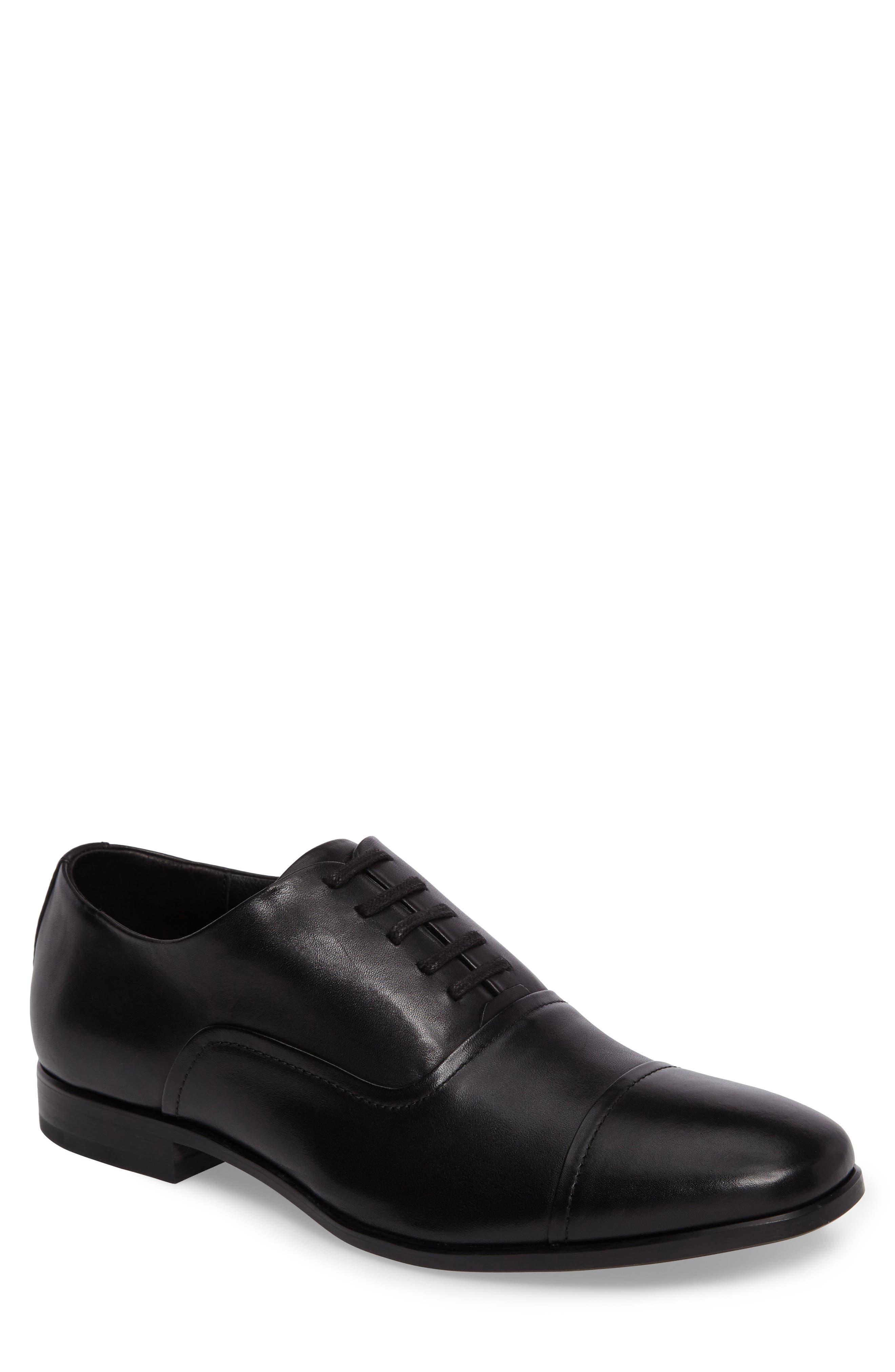 Alternate Image 1 Selected - Calvin Klein Saul Cap Toe Oxford (Men)