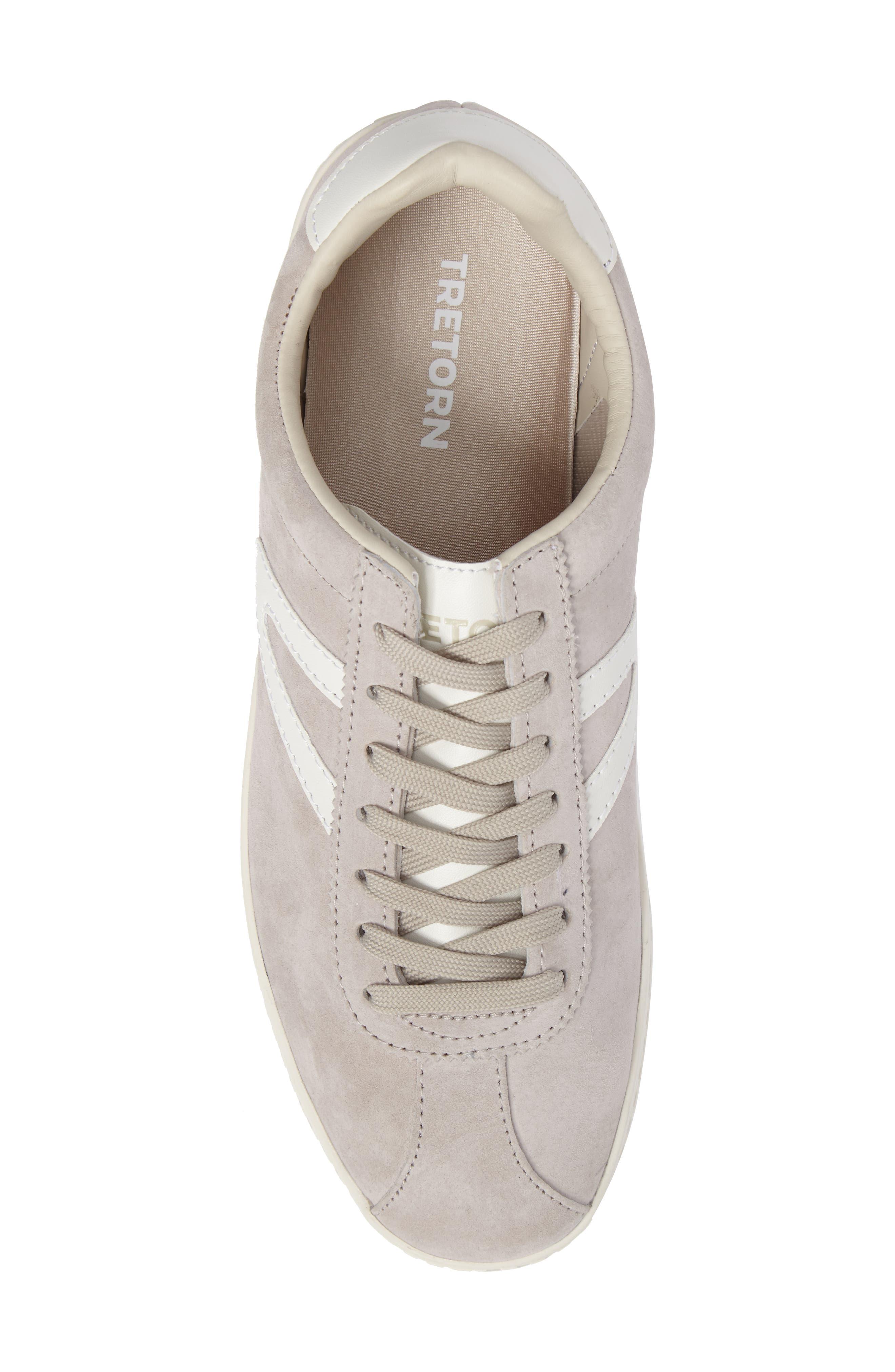 Camden 3 Sneaker,                             Alternate thumbnail 5, color,                             Birch/ White Nubuck