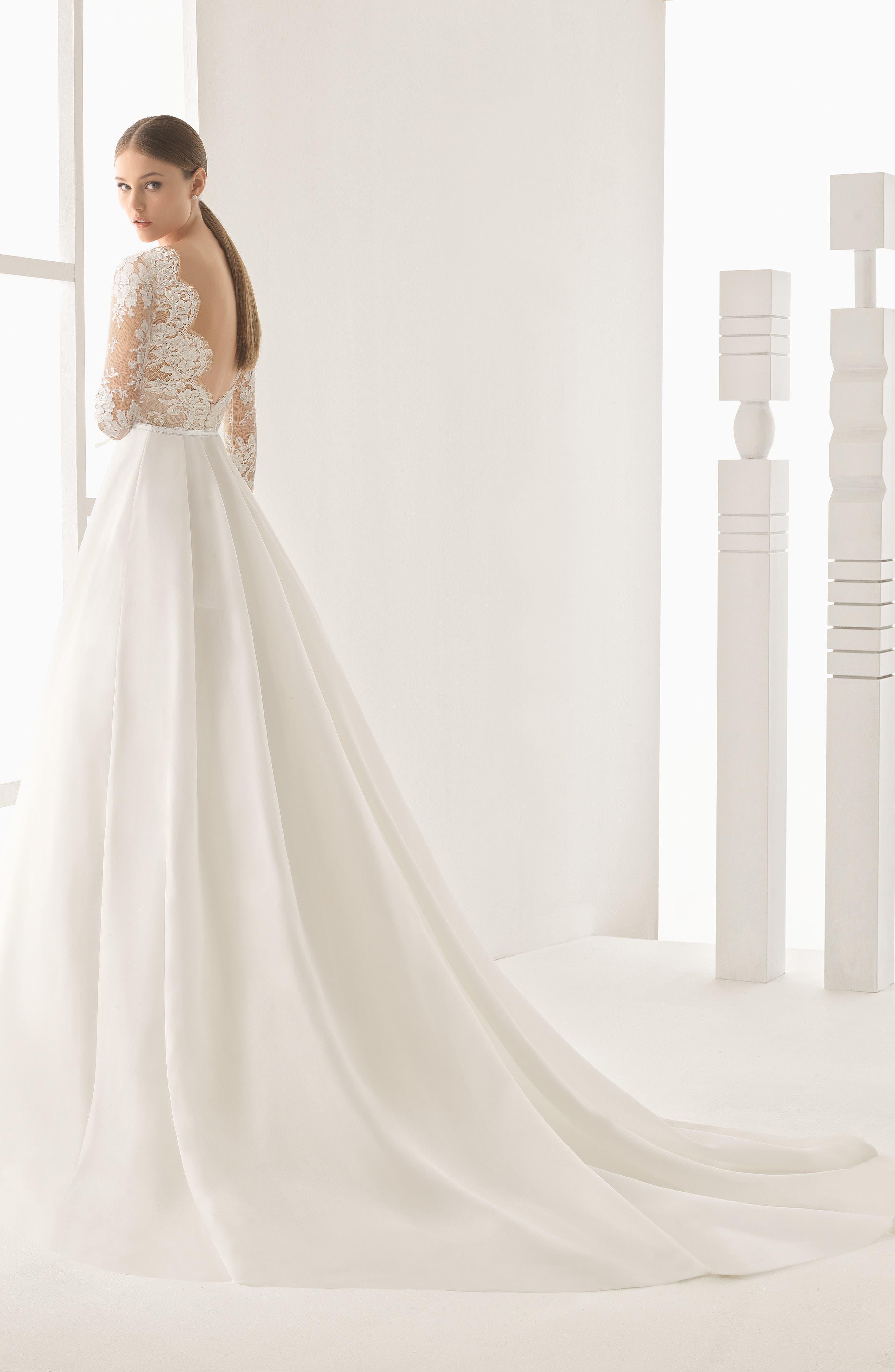 Womens silk wedding dresses bridal gowns nordstrom ombrellifo Gallery