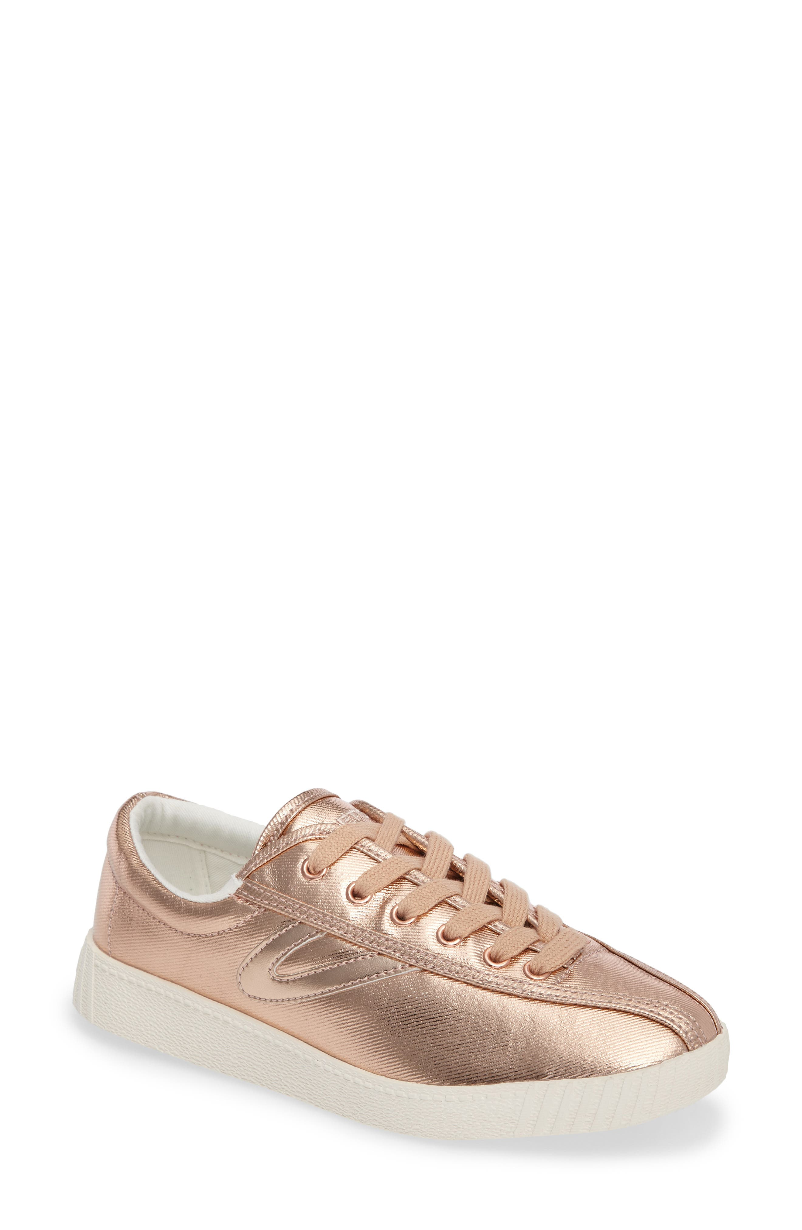 Nylite Plus Sneaker,                         Main,                         color, Rose Gold/ Rose Gold