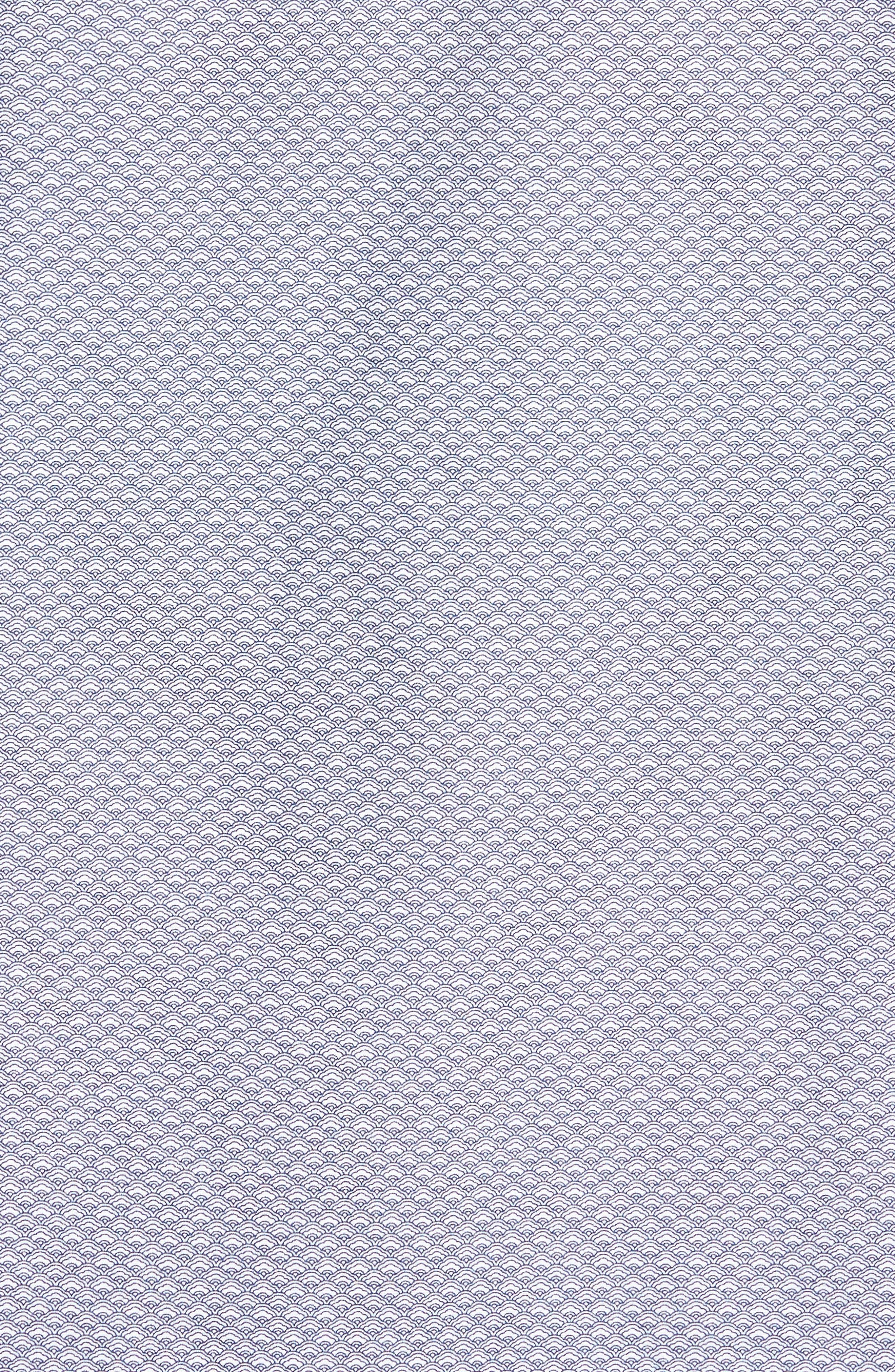 Macauley Sports Fit Print Sport Shirt,                             Alternate thumbnail 5, color,                             Royal