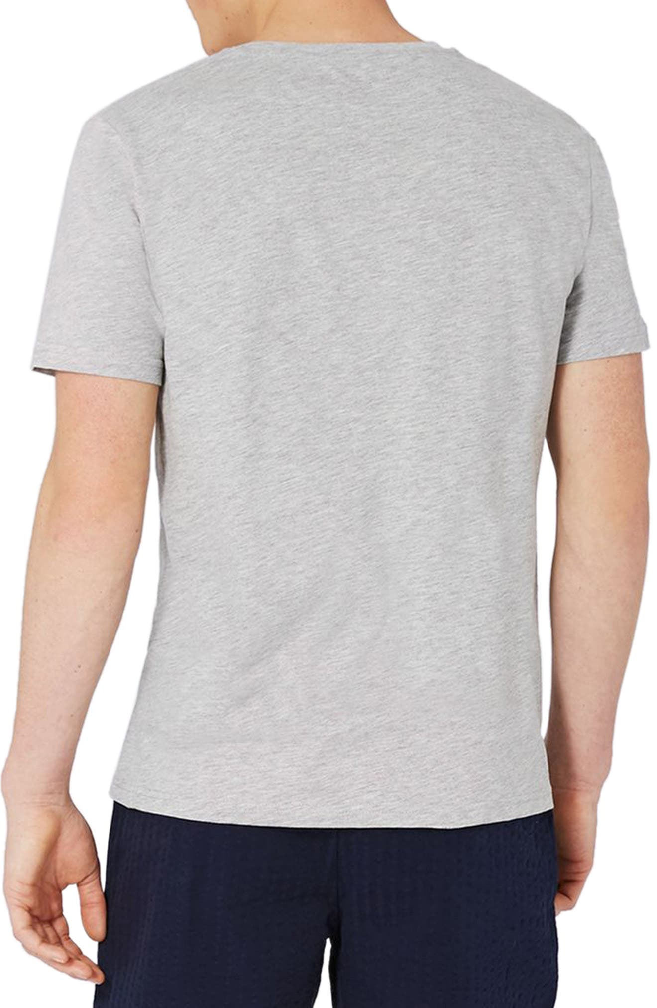 Alternate Image 3  - Topman Stripe Pocket T-Shirt