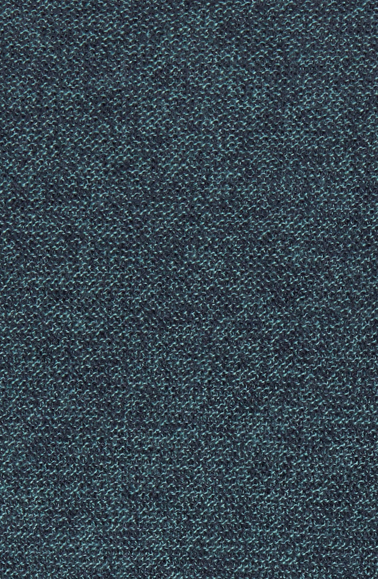 Ridgewood V-Neck Sweater,                             Alternate thumbnail 5, color,                             Turf/ Naval Blue Melange
