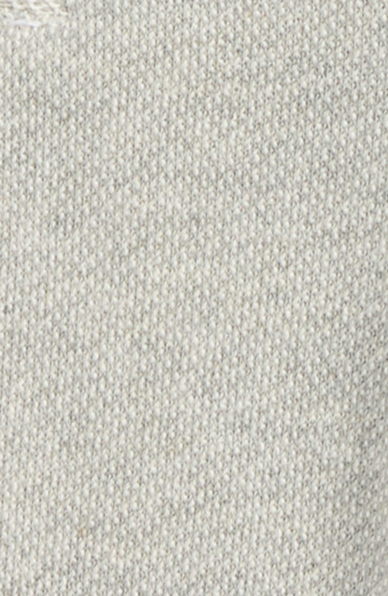 Organic Cotton Kimono Top & Pants Set,                             Alternate thumbnail 2, color,                             Heather Grey