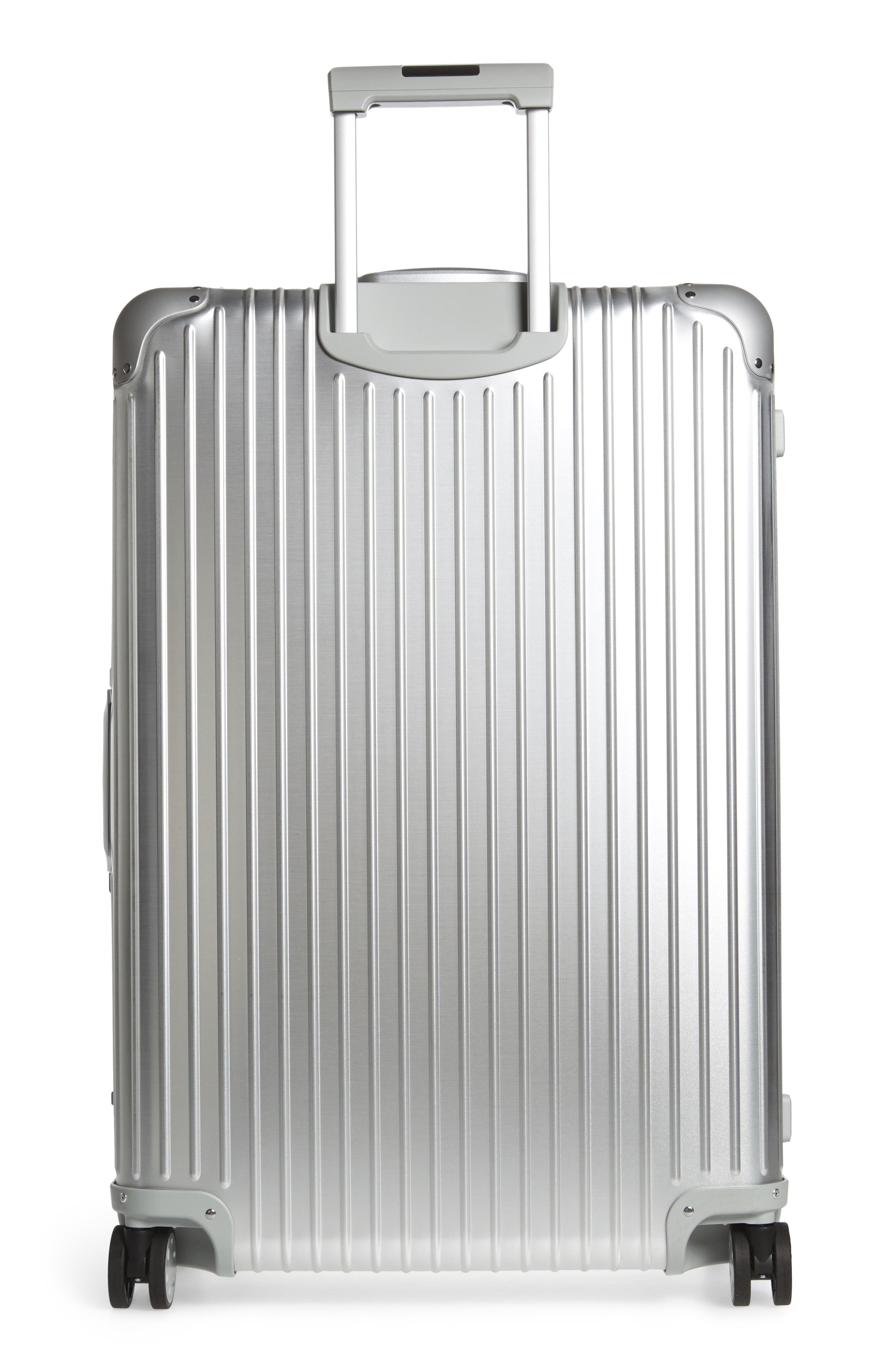 Alternate Image 5  - RIMOWA Topas 32-Inch Sport Multiwheel® Aluminum Packing Case with Electronic Tag