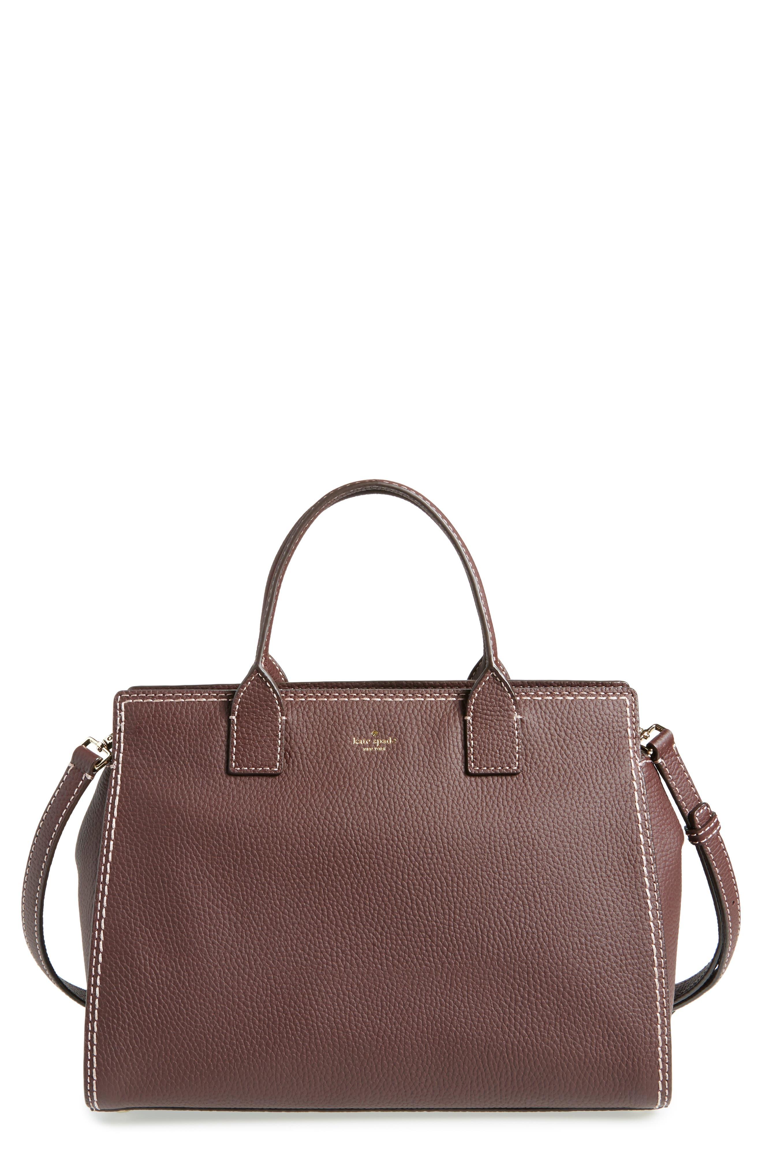 kate spade new york dunne lane lake leather satchel