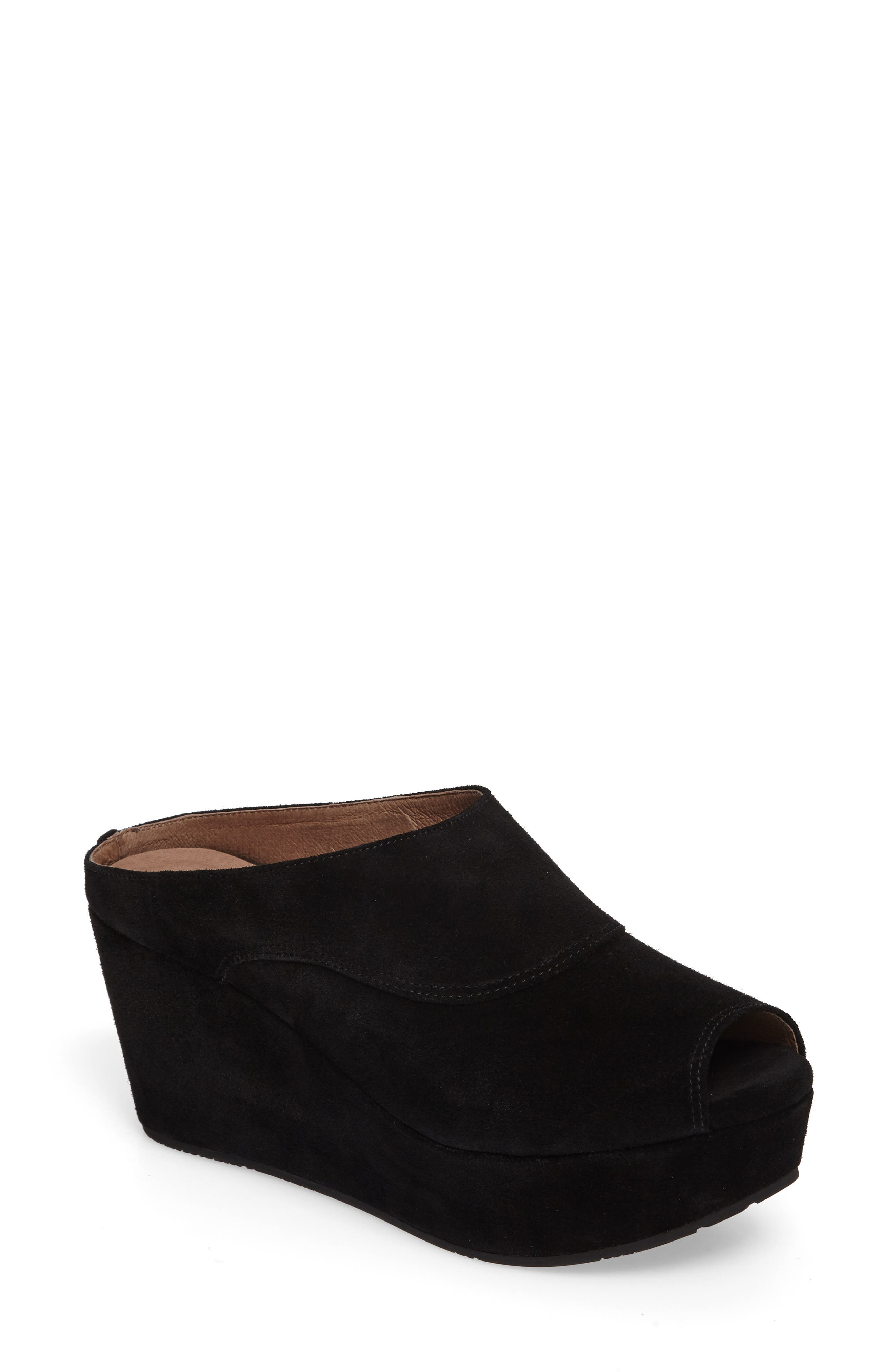 Chocolat Blu Wind Platform Wedge Mule (Women)