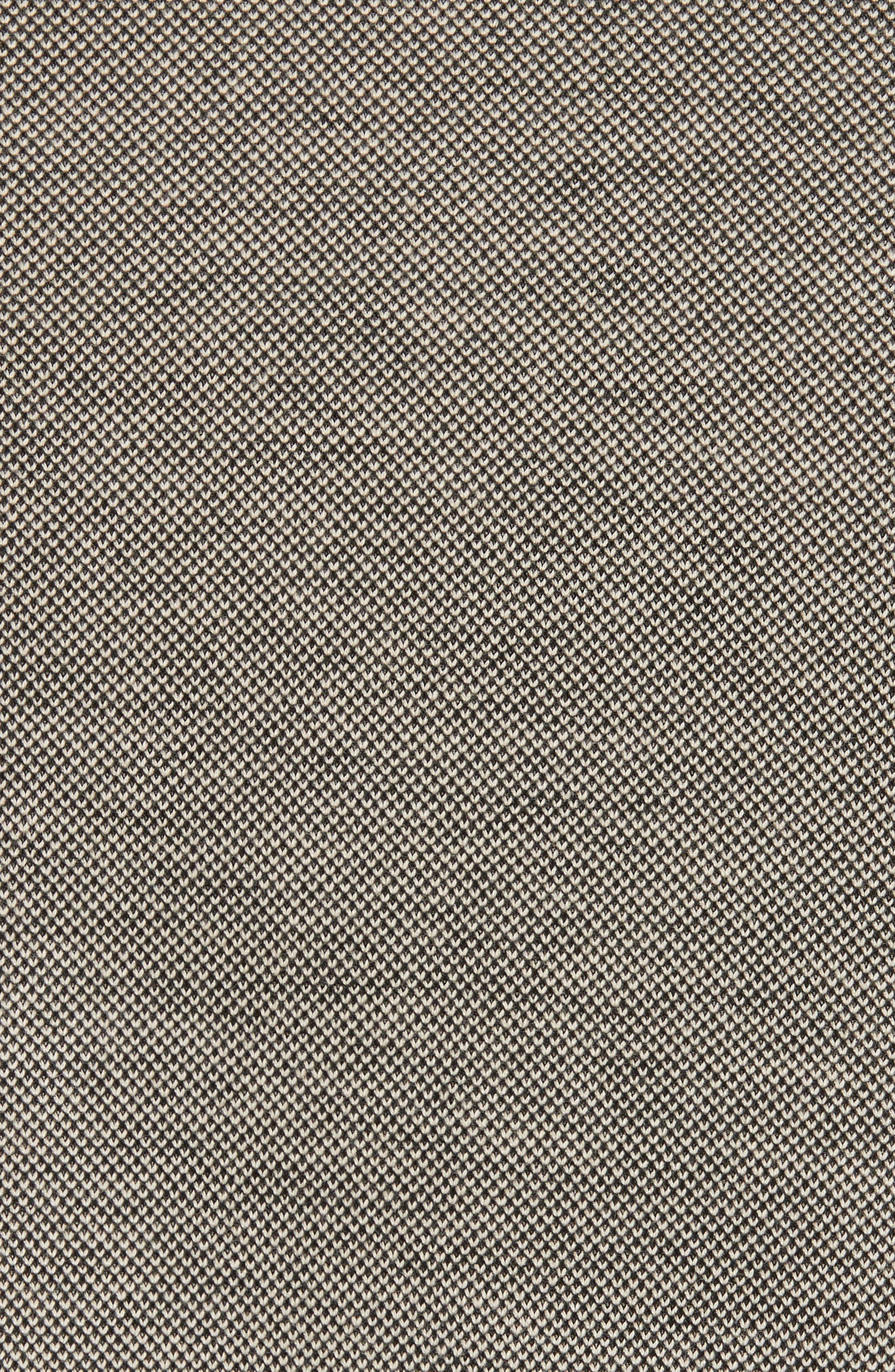Filigree Collar Polo,                             Alternate thumbnail 5, color,                             Beige