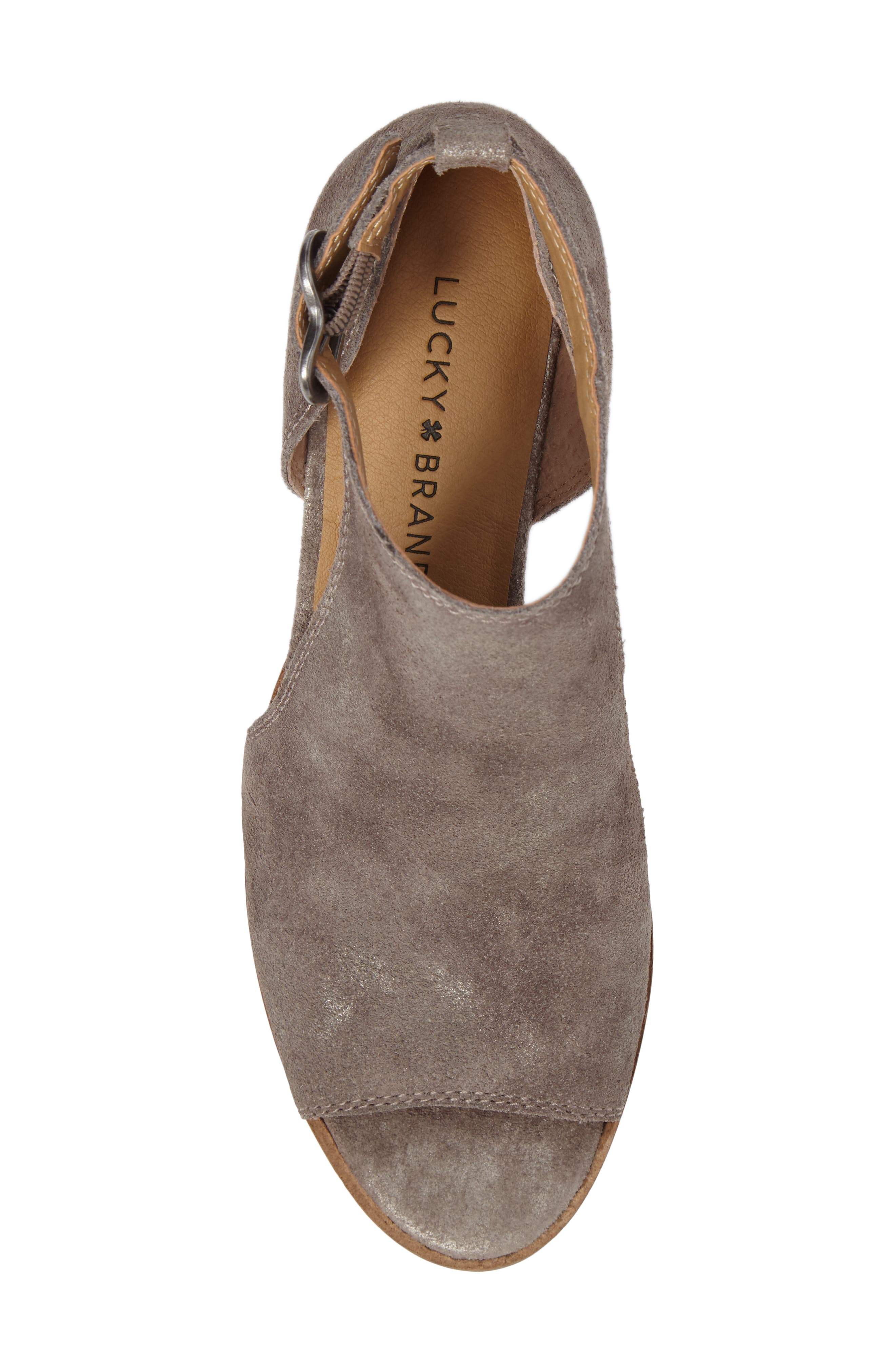 Alternate Image 4  - Lucky Brand Rixanne Cutout Bootie (Women)
