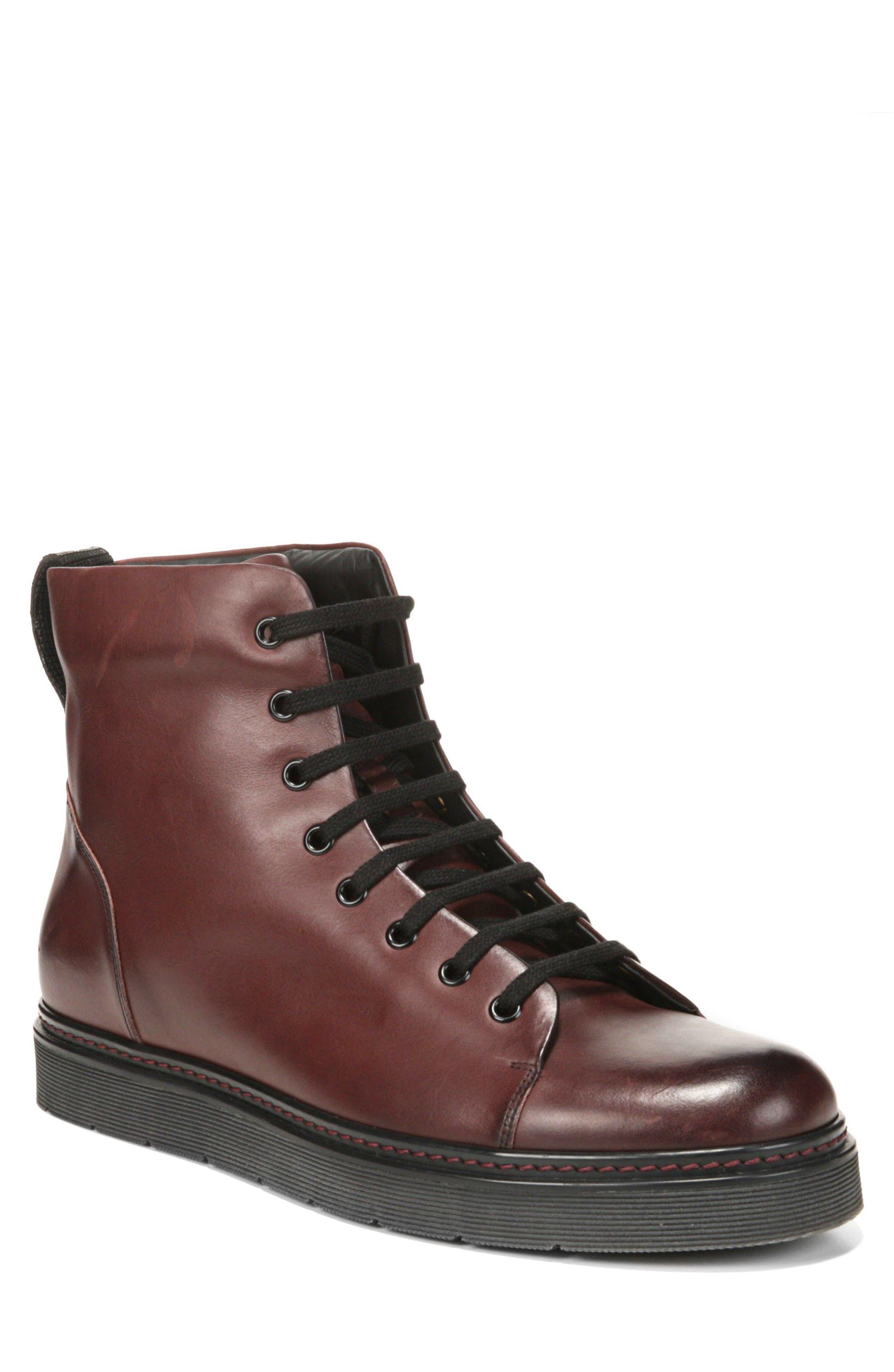 Vince Malone Plain Toe Boot (Men)
