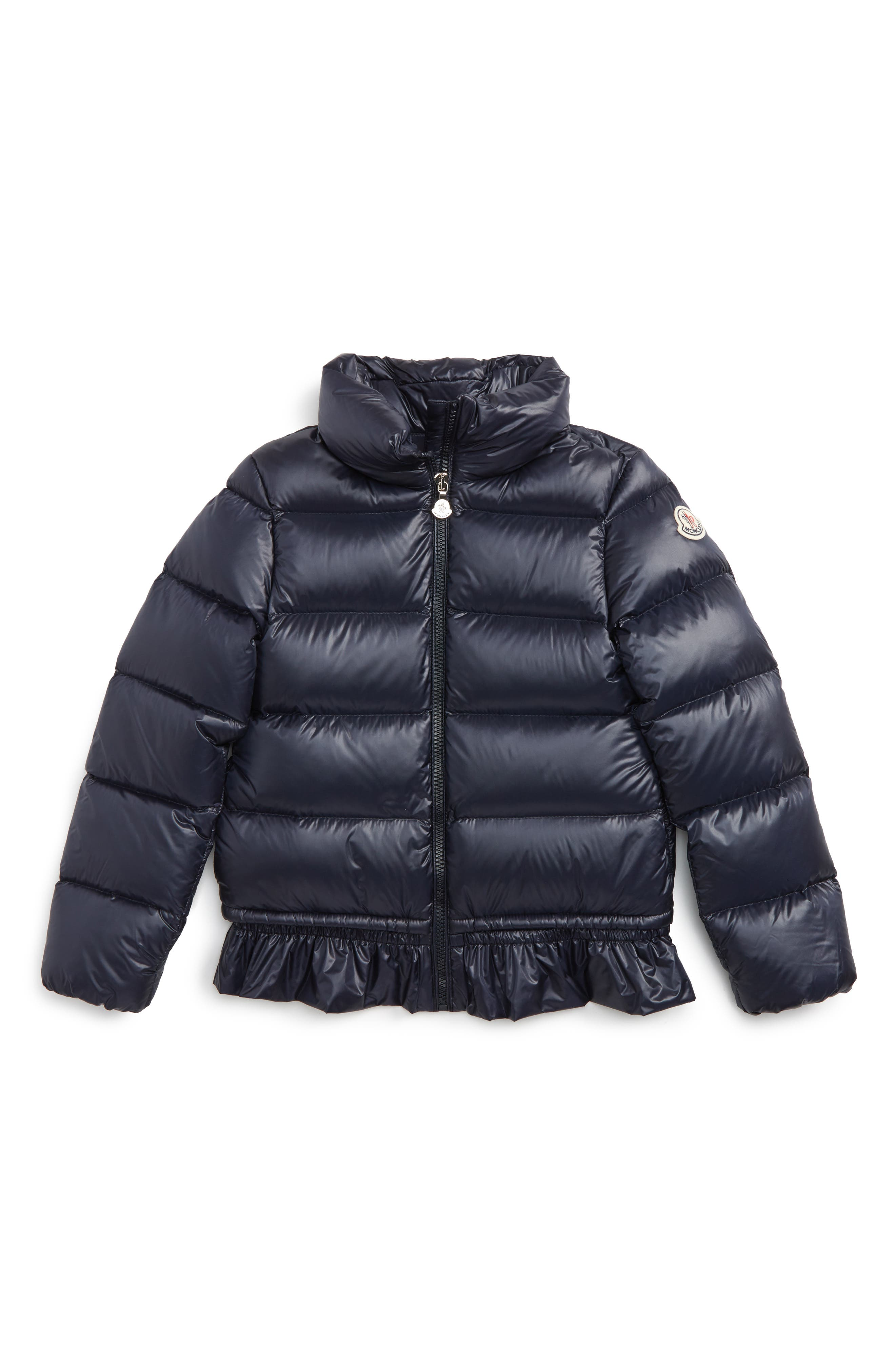 Moncler Anette Water Resistant Down Jacket (Little Girls & Big Girls)
