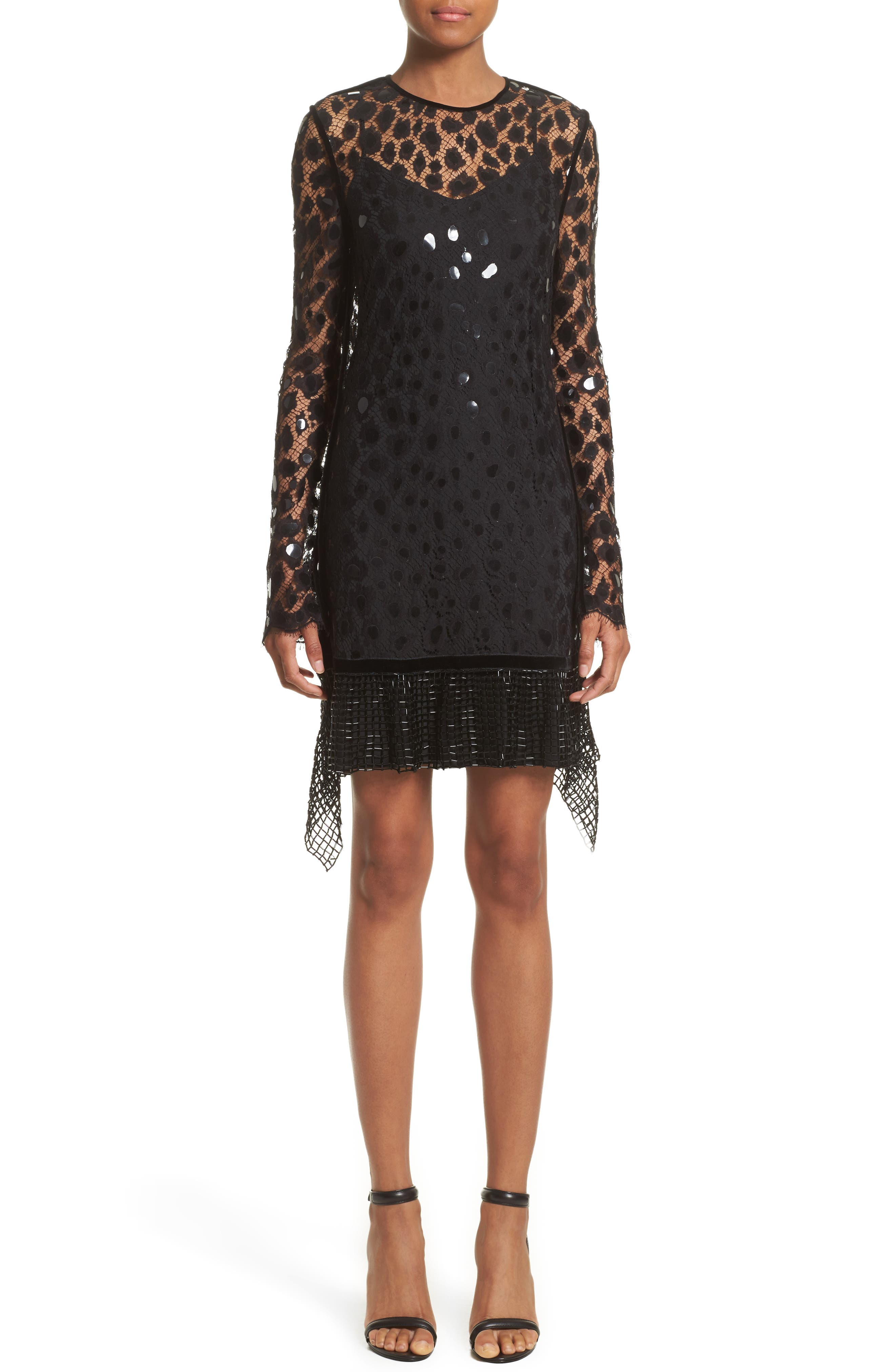 Alexander Wang Handkerchief Hem Dress