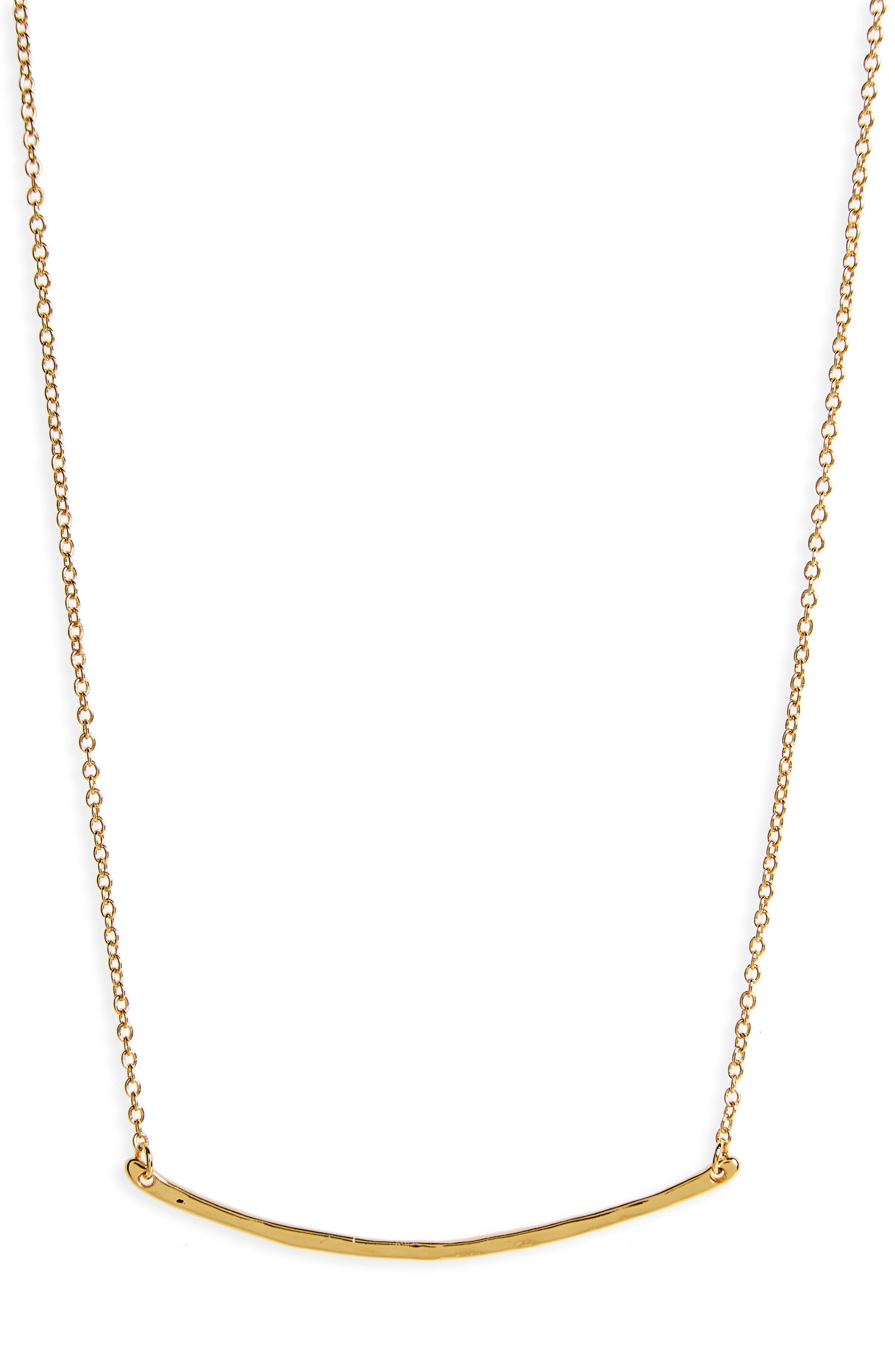 Alternate Image 1 Selected - gorjana Taner Bar Small Necklace