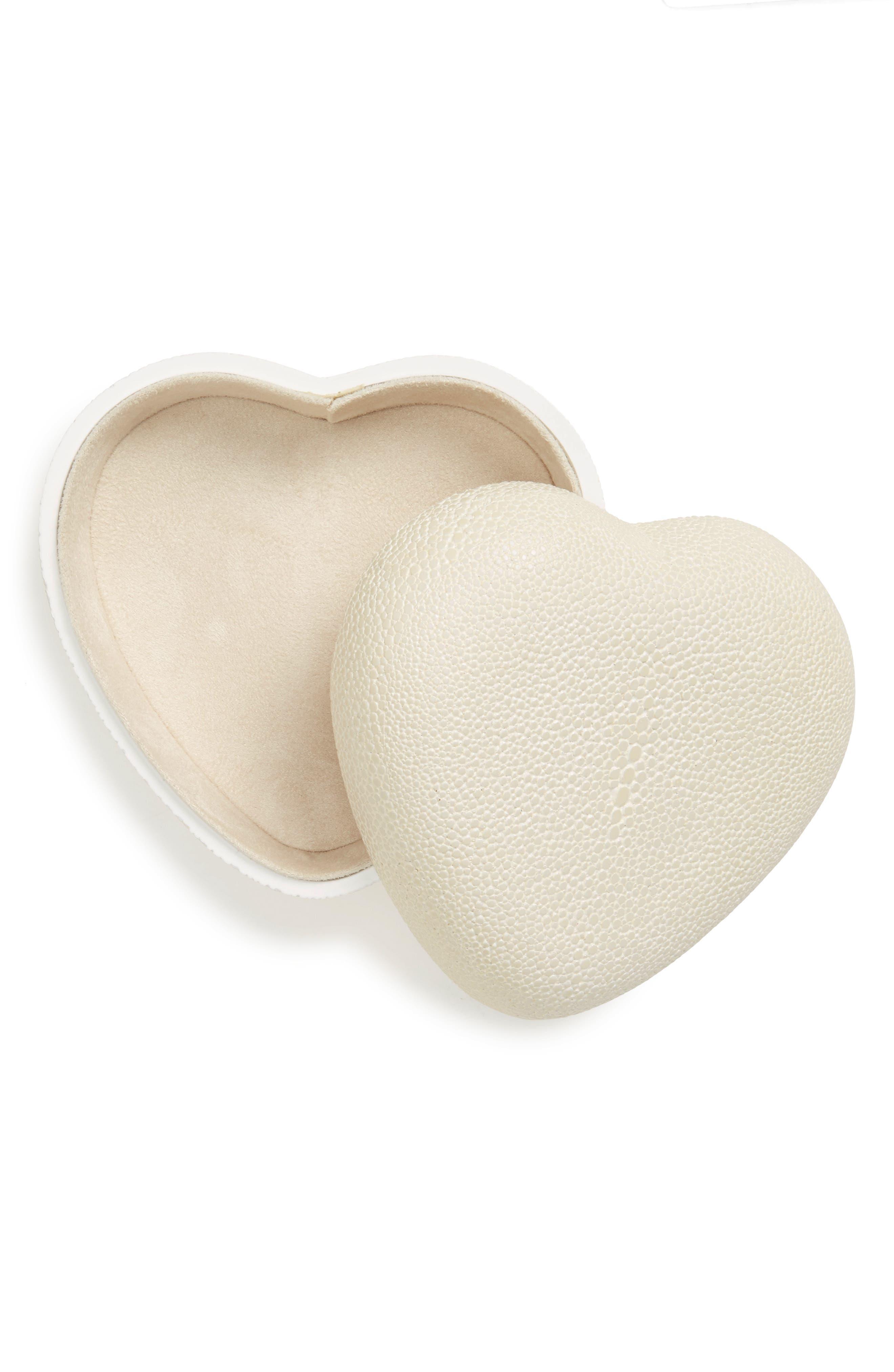 Alternate Image 2  - AERIN Shagreen Heart Box