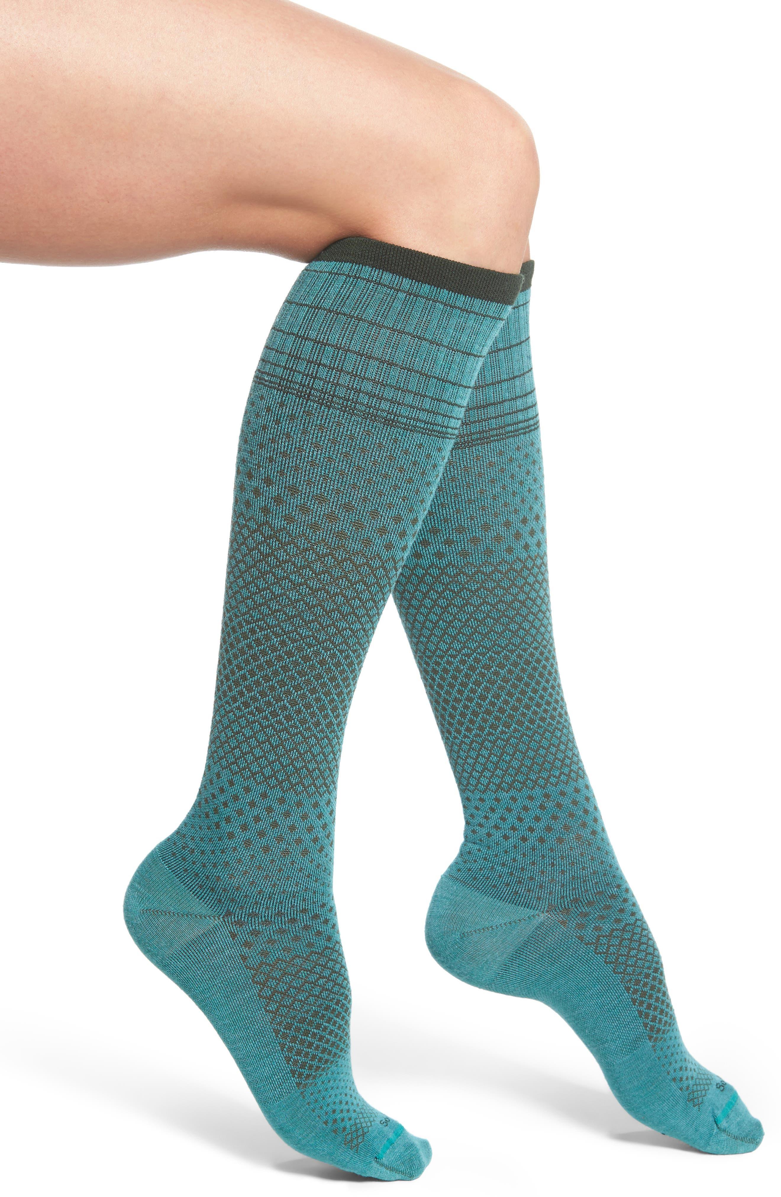 Alternate Image 1 Selected - Sockwell Micro Grade Compression Knee Socks