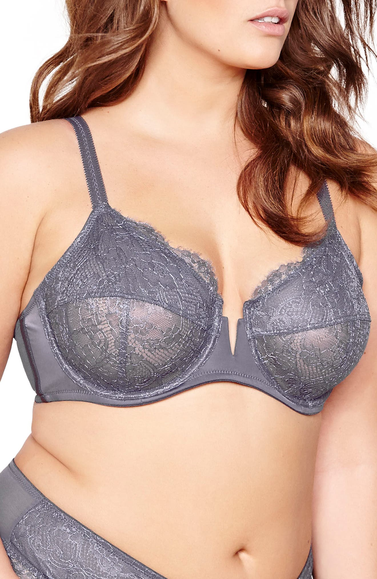 Alternate Image 3  - Ashley Graham Fatal Attraction Underwire T-Shirt Bra (Plus Size)