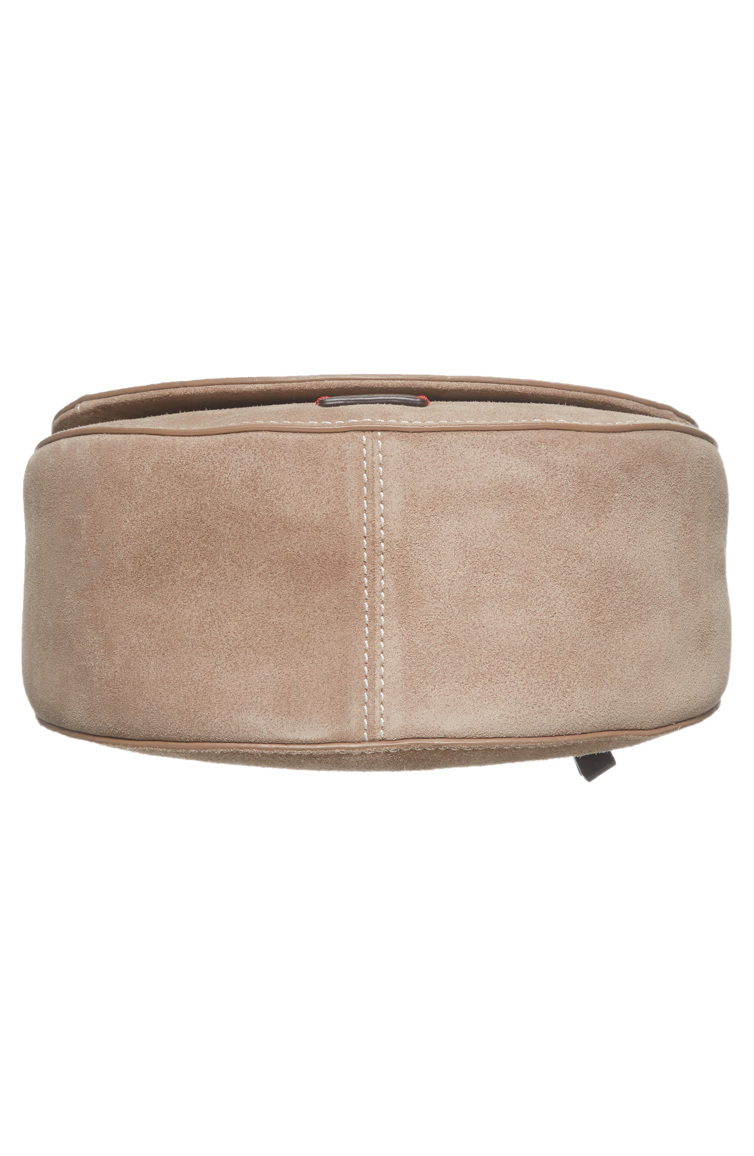 Alternate Image 6  - Frances Valentine Mini Ellen Suede Crossbody Bag