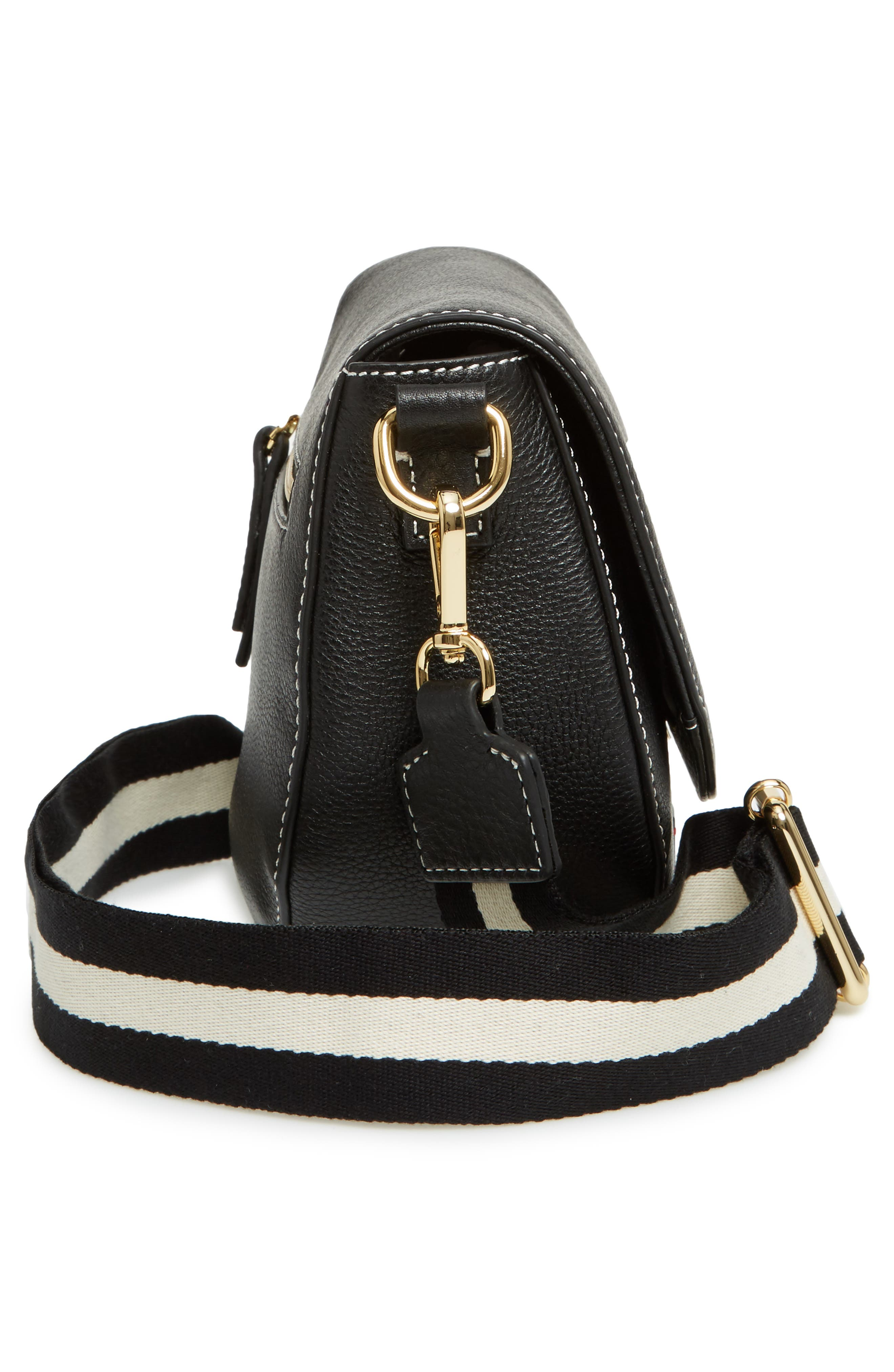 Alternate Image 5  - Frances Valentine Mini Ellen Leather Crossbody Bag