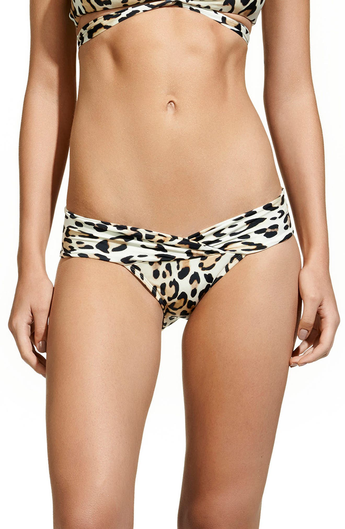 ViX Swimwear Leopard Beta Bikini Bottoms