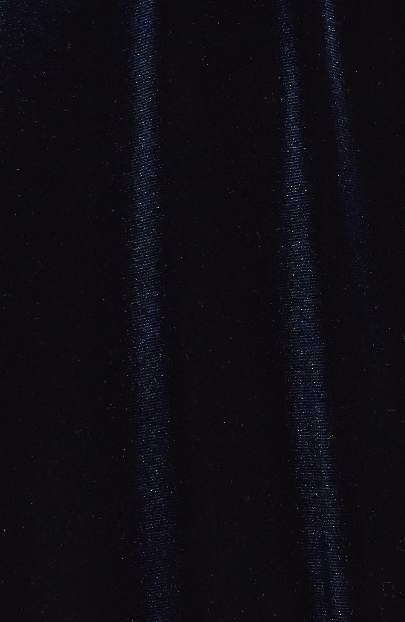 Alternate Image 5  - Chelsea28 Velvet Midi Dress