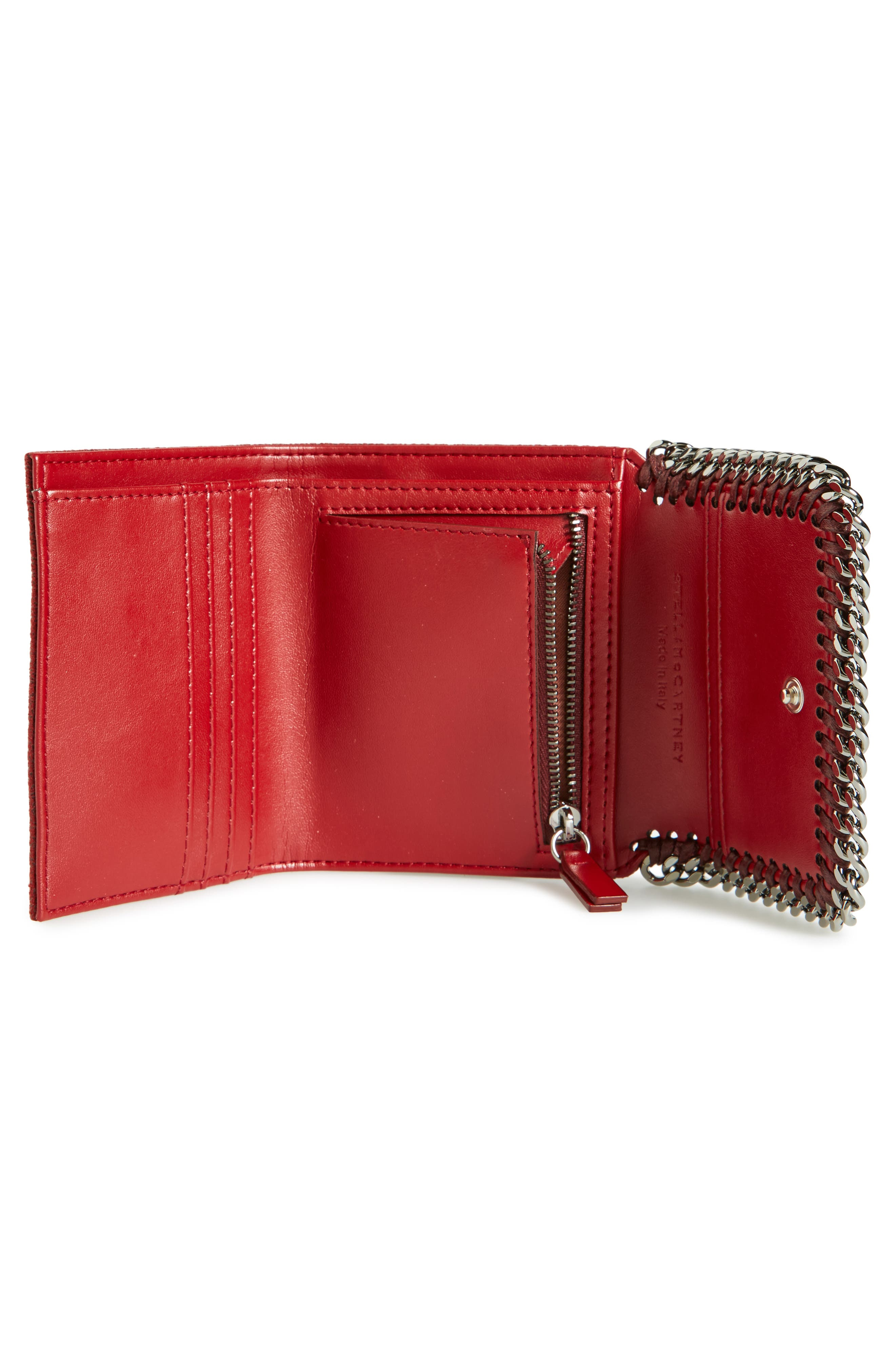 Alternate Image 2  - Stella McCartney 'Small Falabella' Faux Leather French Wallet
