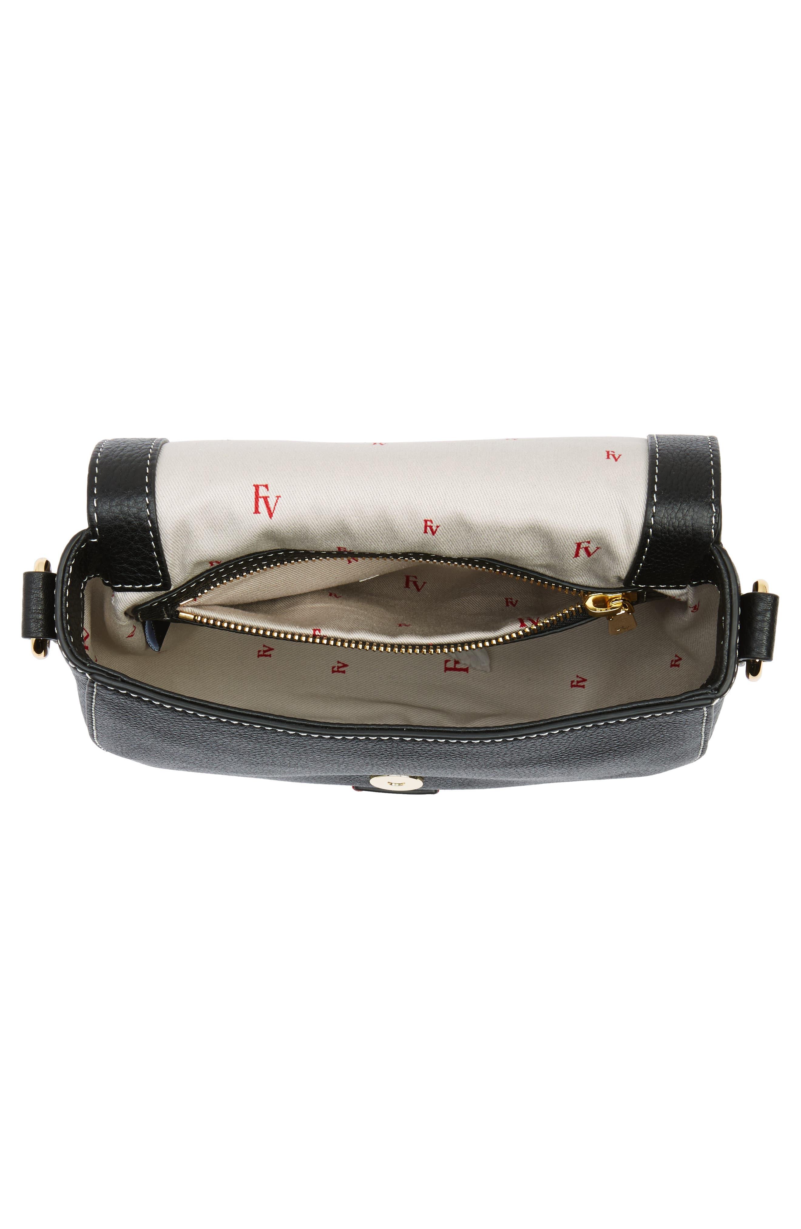 Alternate Image 4  - Frances Valentine Mini Ellen Leather Crossbody Bag