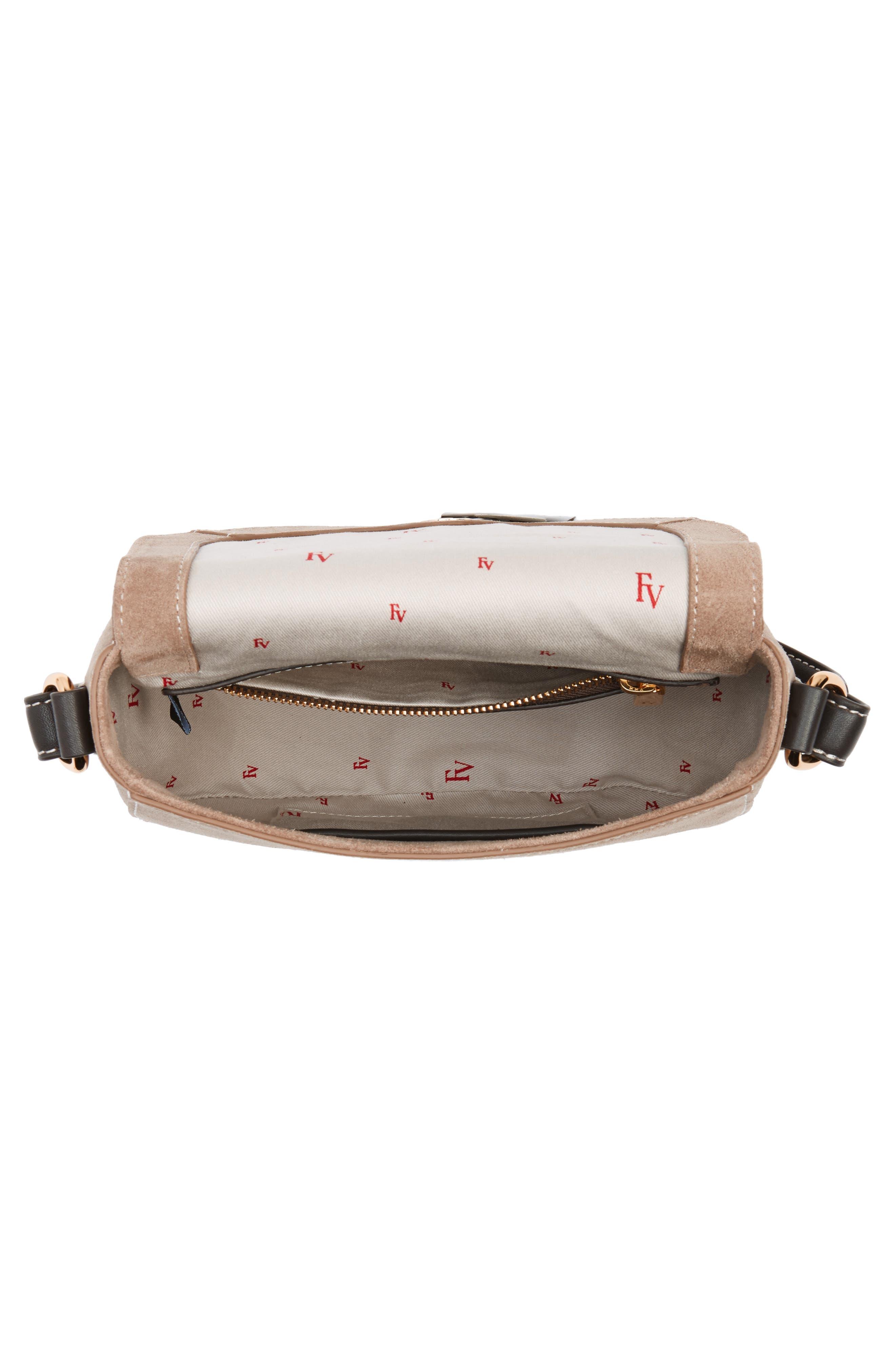 Alternate Image 4  - Frances Valentine Mini Ellen Suede Crossbody Bag