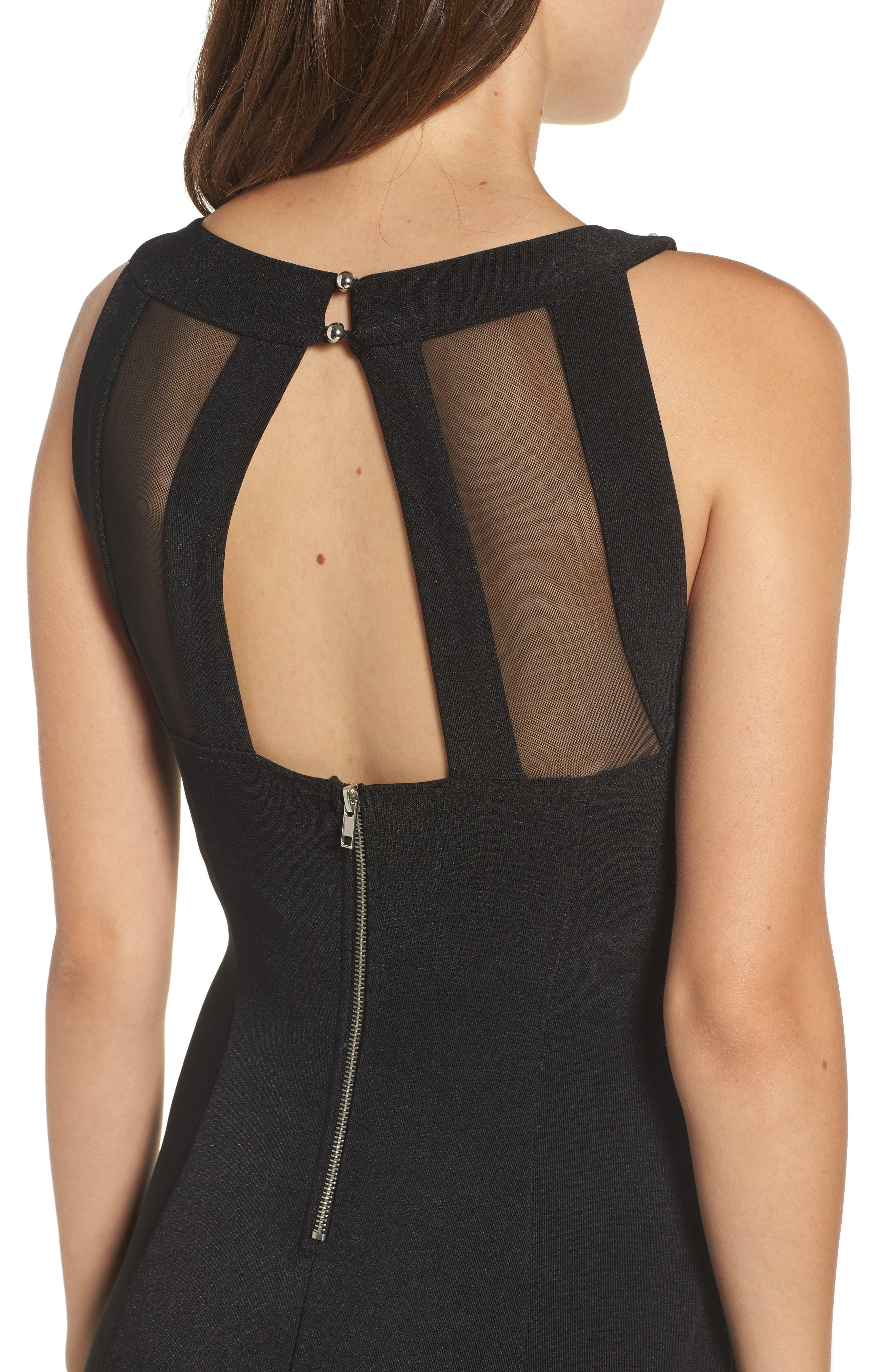 Alternate Image 4  - Love Nickie Lew Beaded Body Con Dress