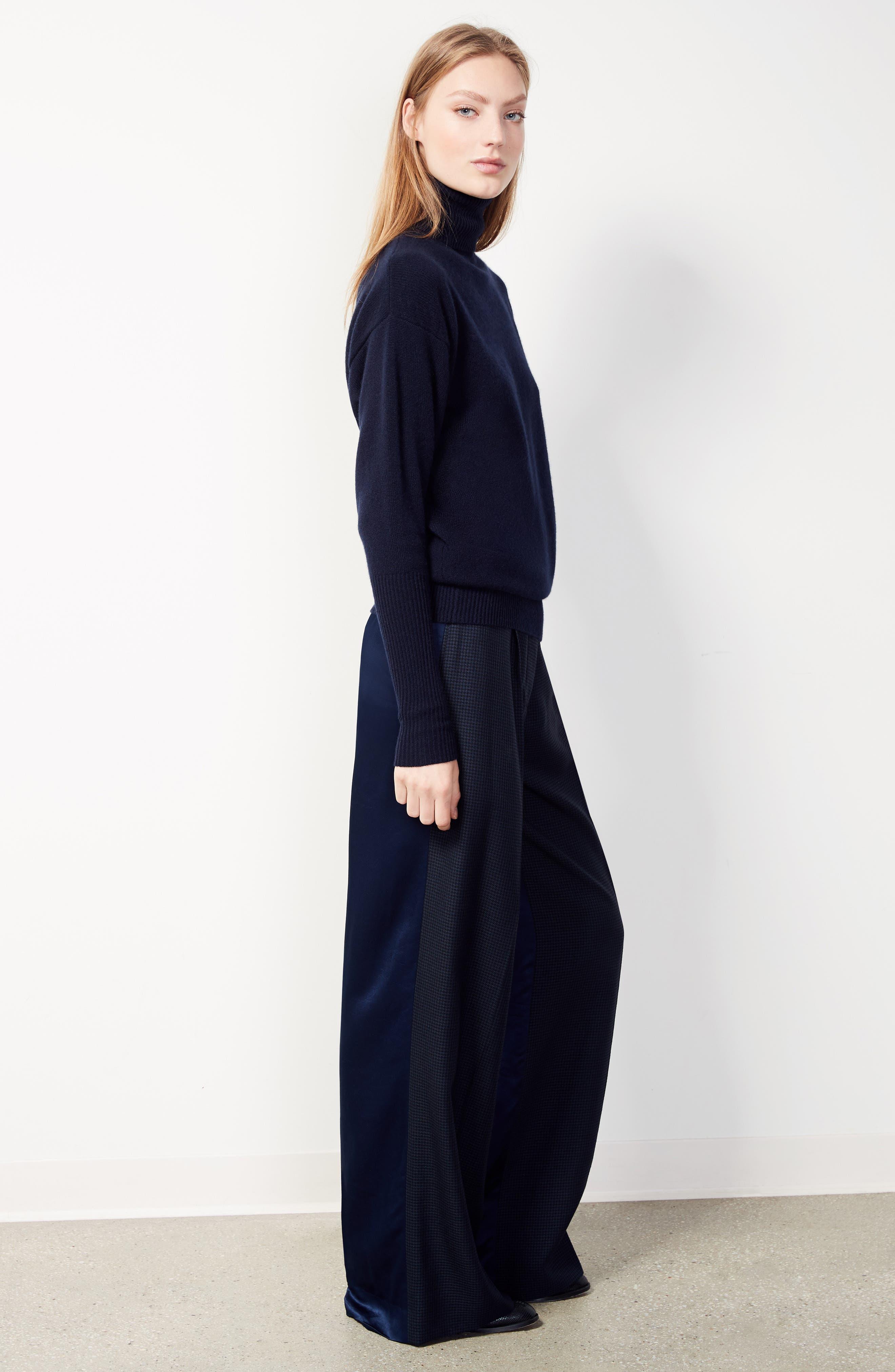Alternate Image 2  - Victoria Beckham Houndstooth Wide Leg Pants