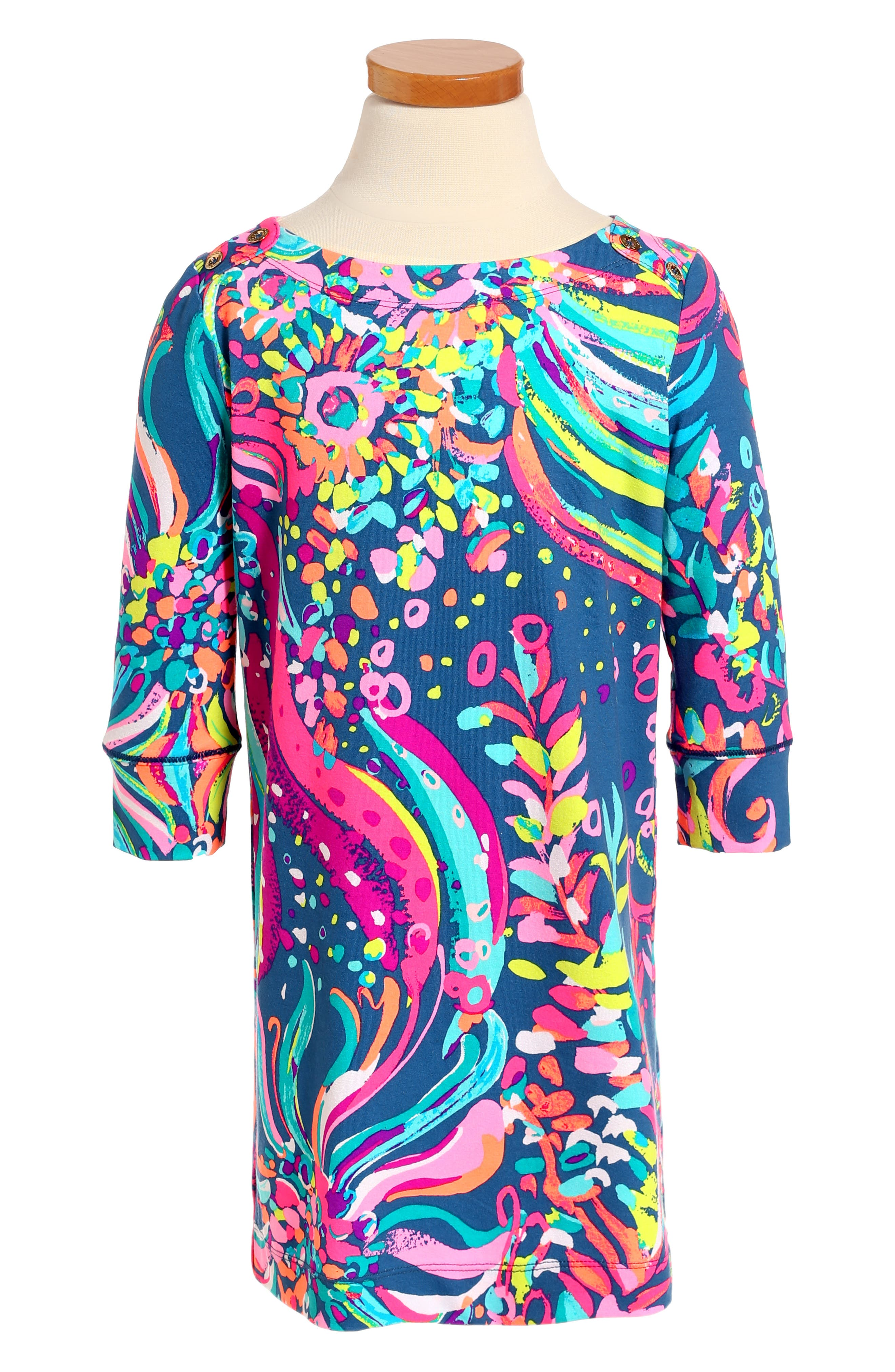 Alternate Image 1 Selected - Lilly Pulitzer® Mini Sophie UPF 50+ Dress (Little Girls & Big Girls)