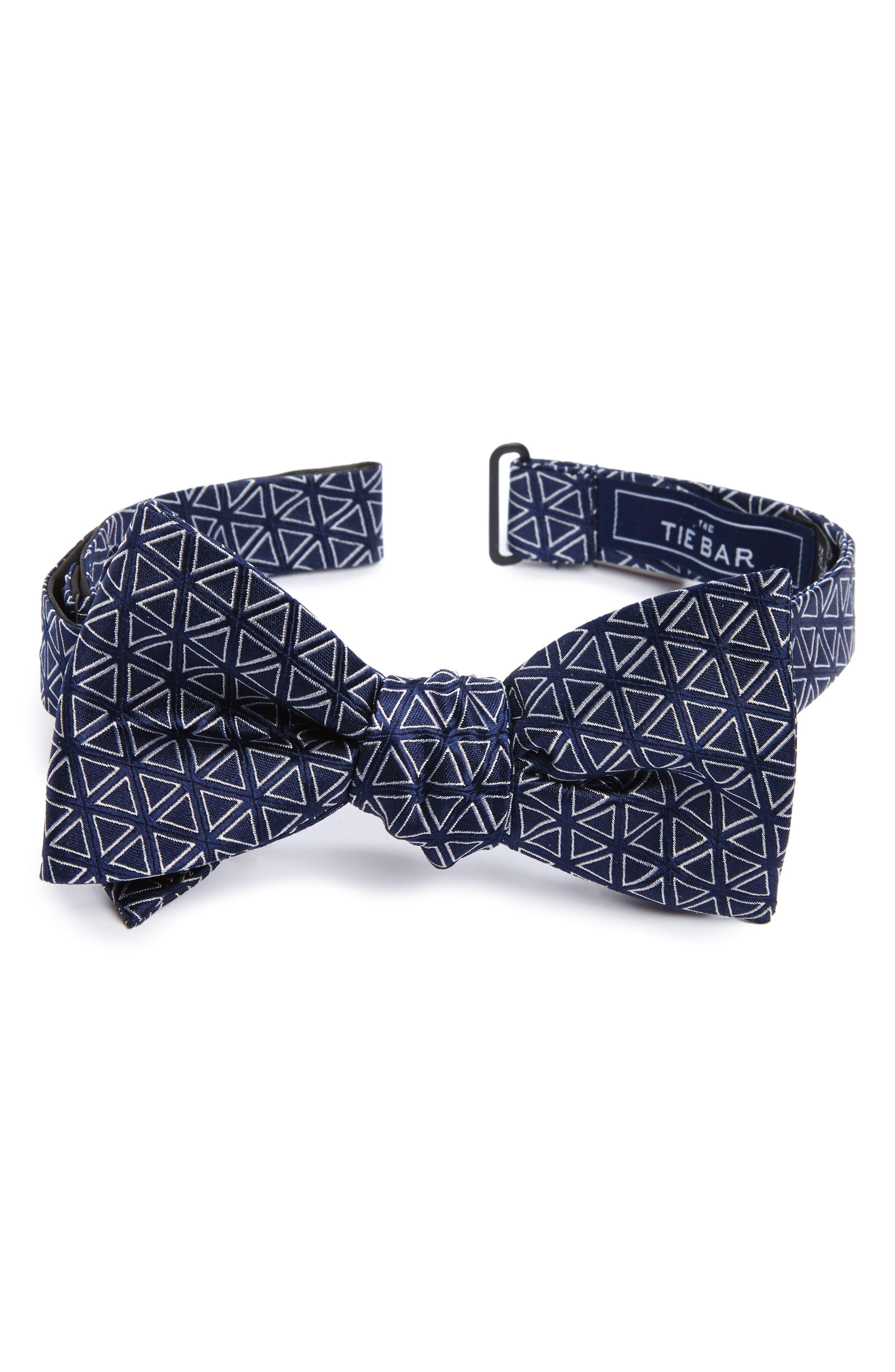 Main Image - The Tie Bar Triad Silk Bow Tie