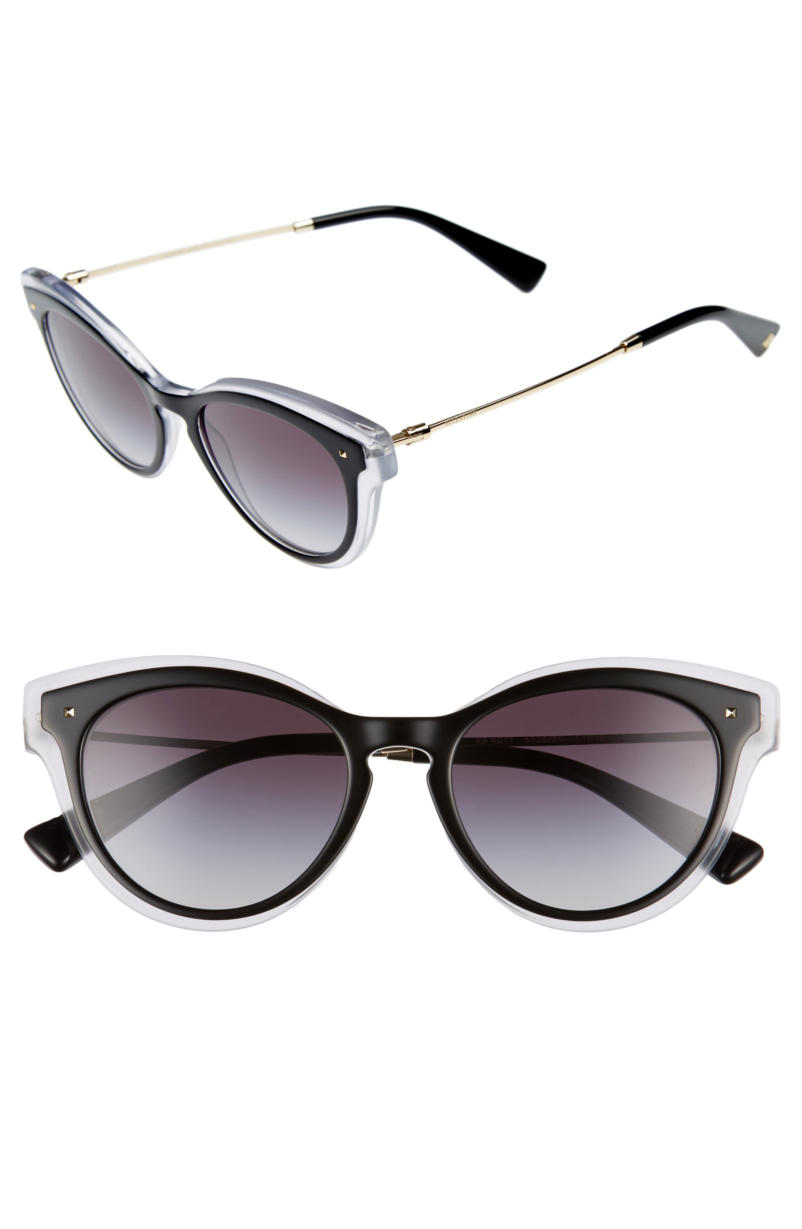 Valentino 51mm Sunglasses