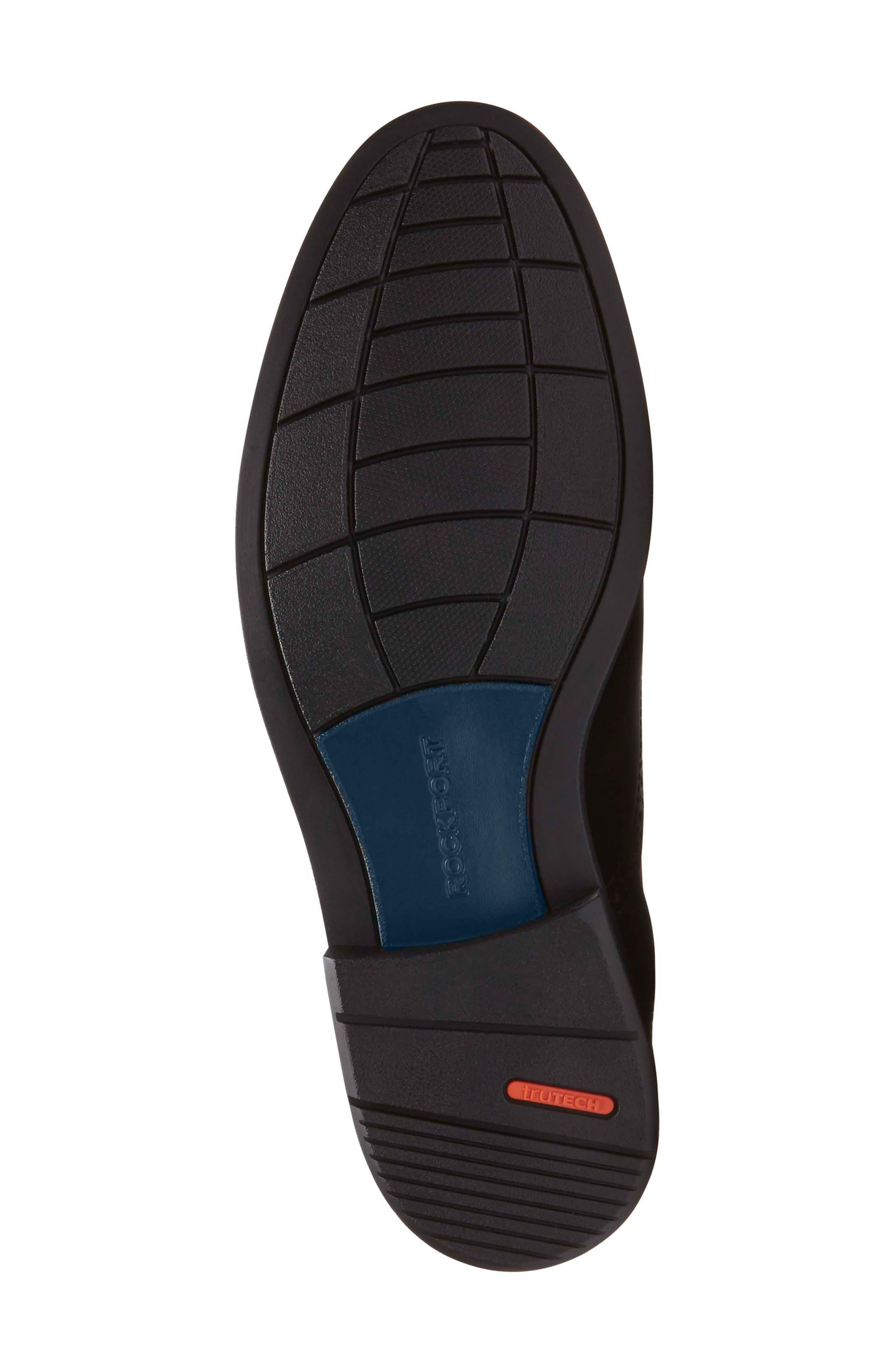 Madson Cap Toe Derby,                             Alternate thumbnail 6, color,                             Black Leather