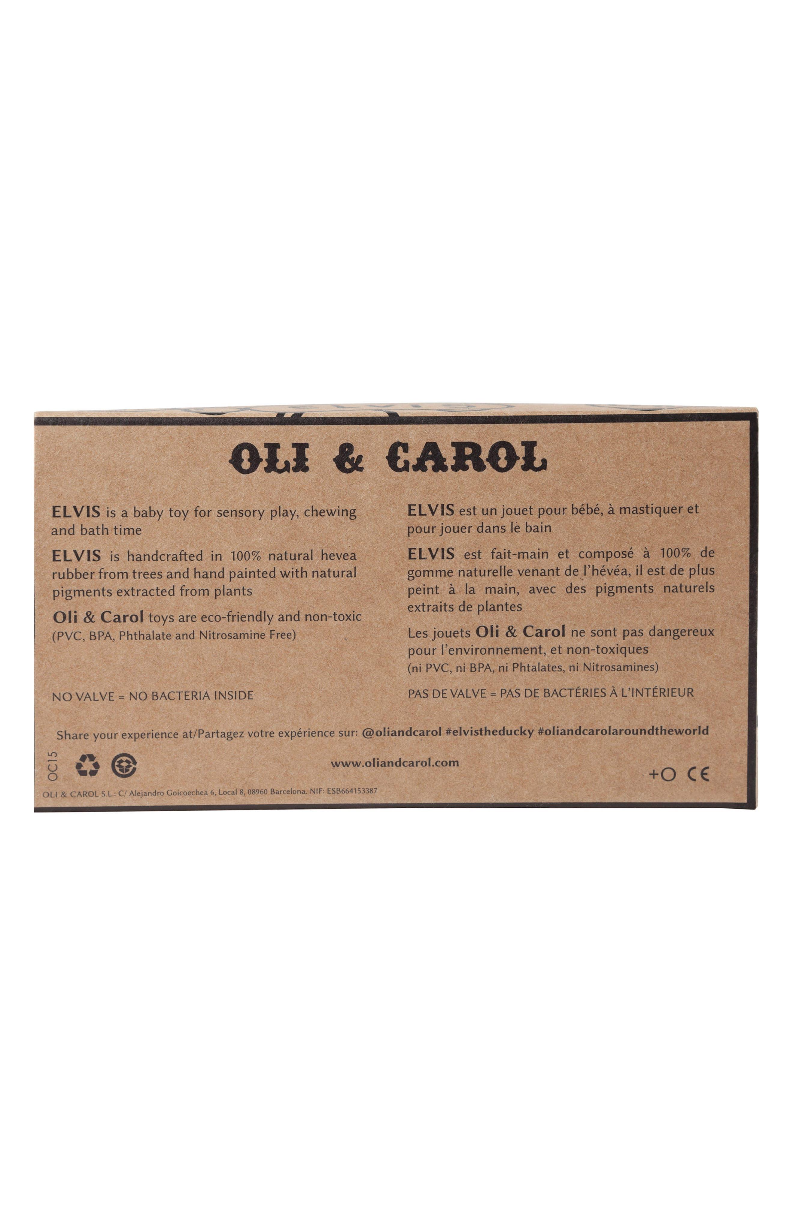 Alternate Image 6  - Oli and Carol Polka Dot Ducky Toy