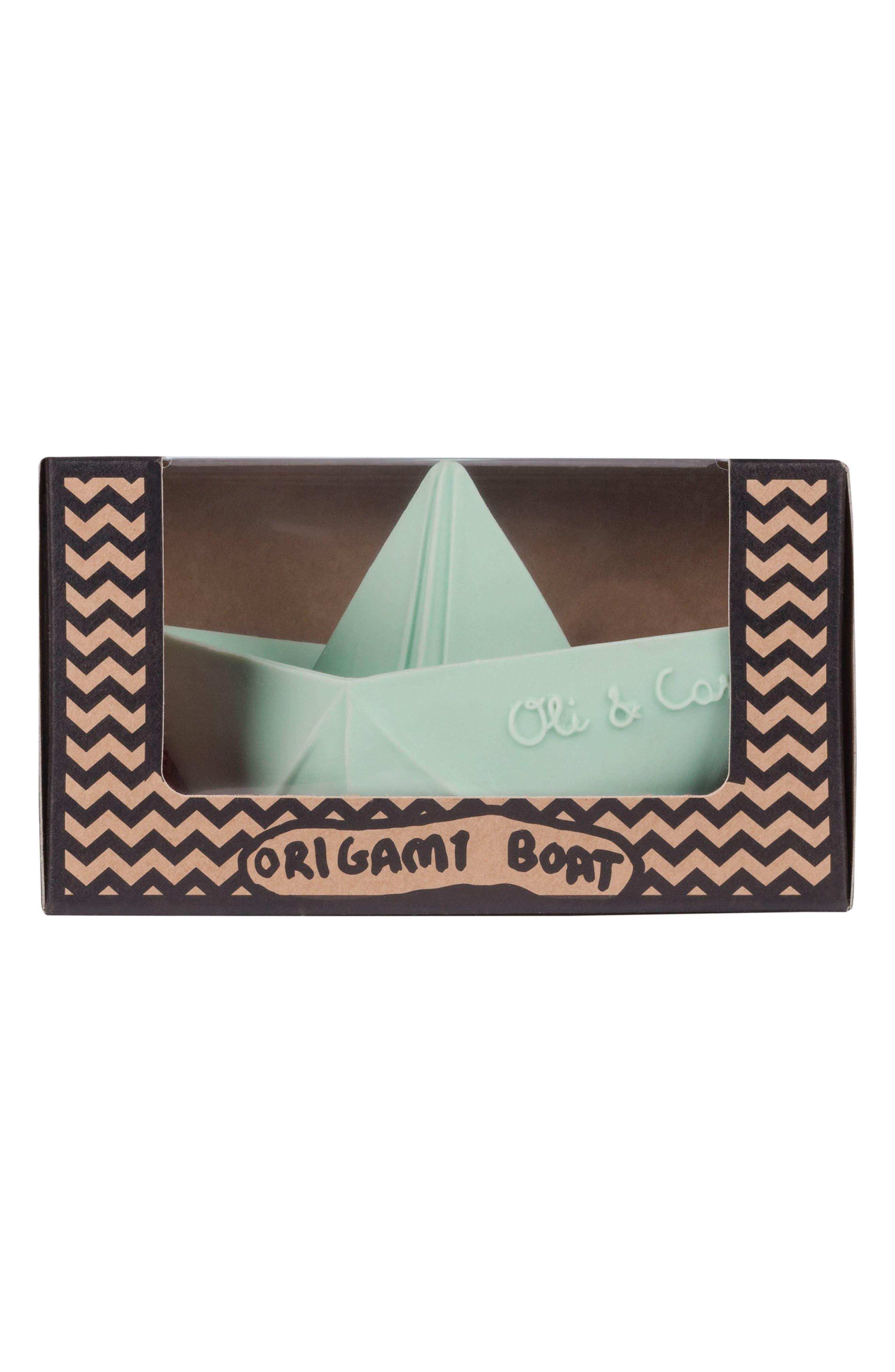 Alternate Image 5  - Oli & Carol Origami Boat Bath Toy
