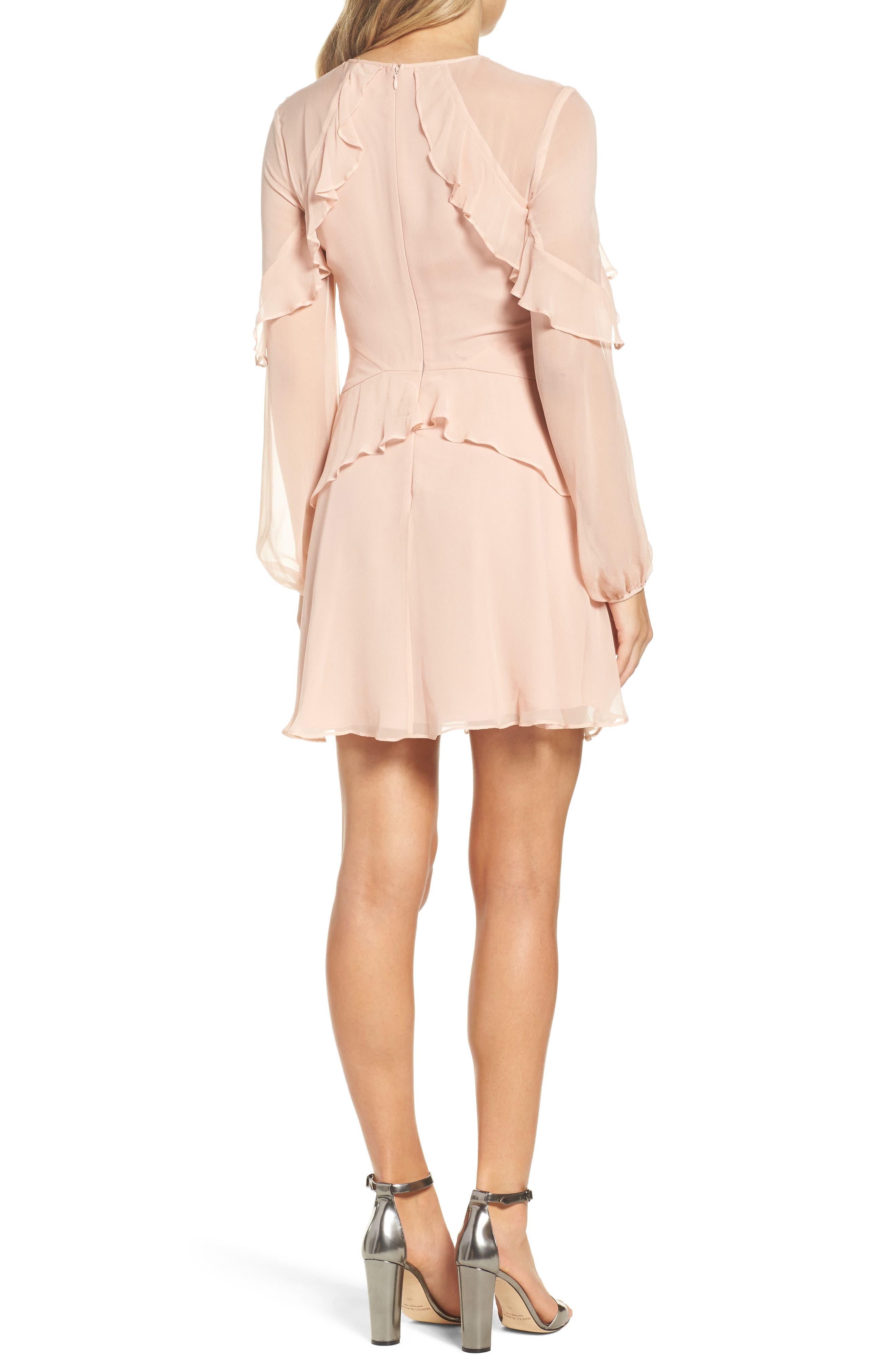 Alternate Image 3  - Greylin Libbie Ruffle Silk Dress