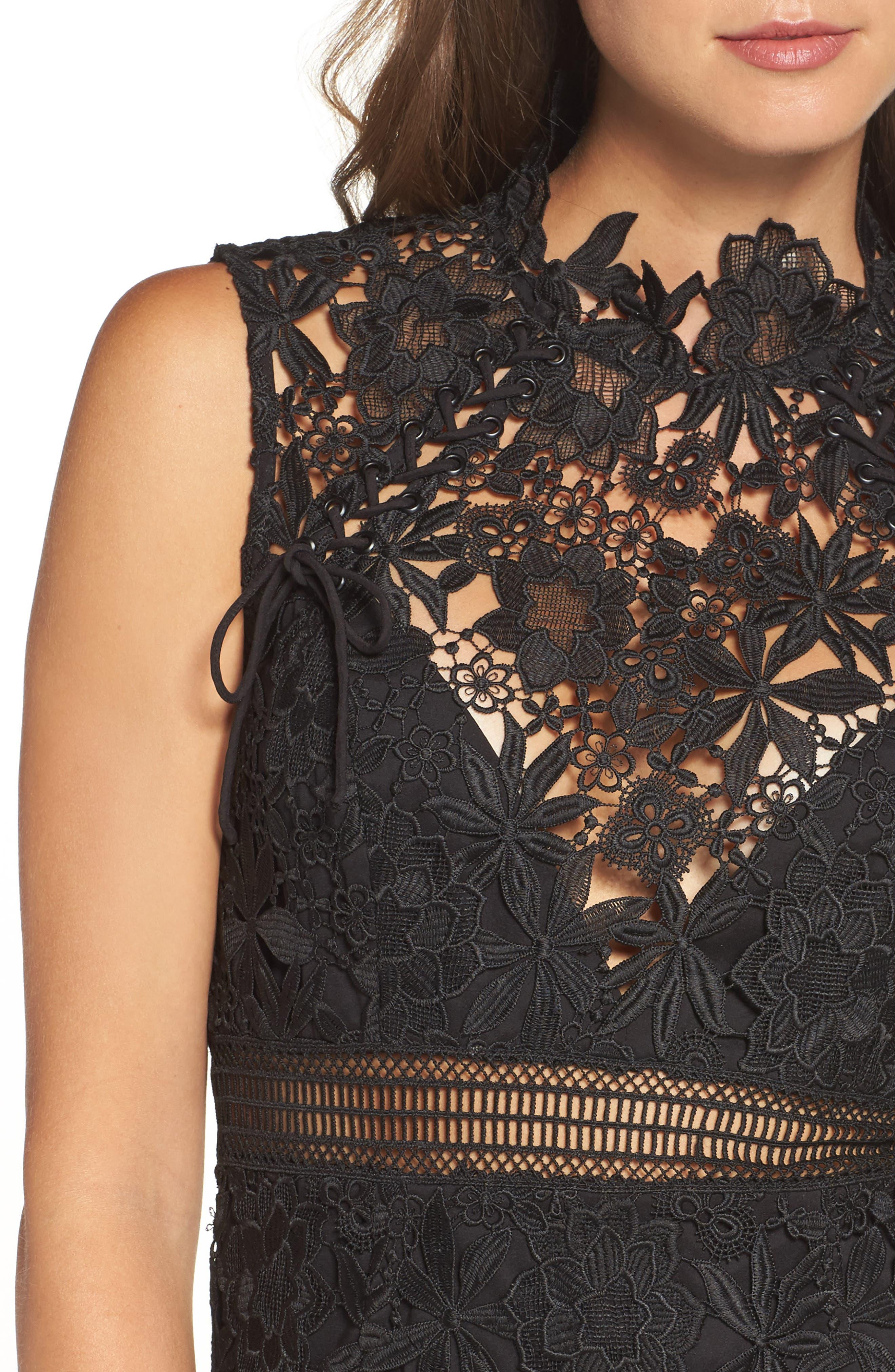 Alternate Image 4  - Bardot Paris Lace Body-Con Dress