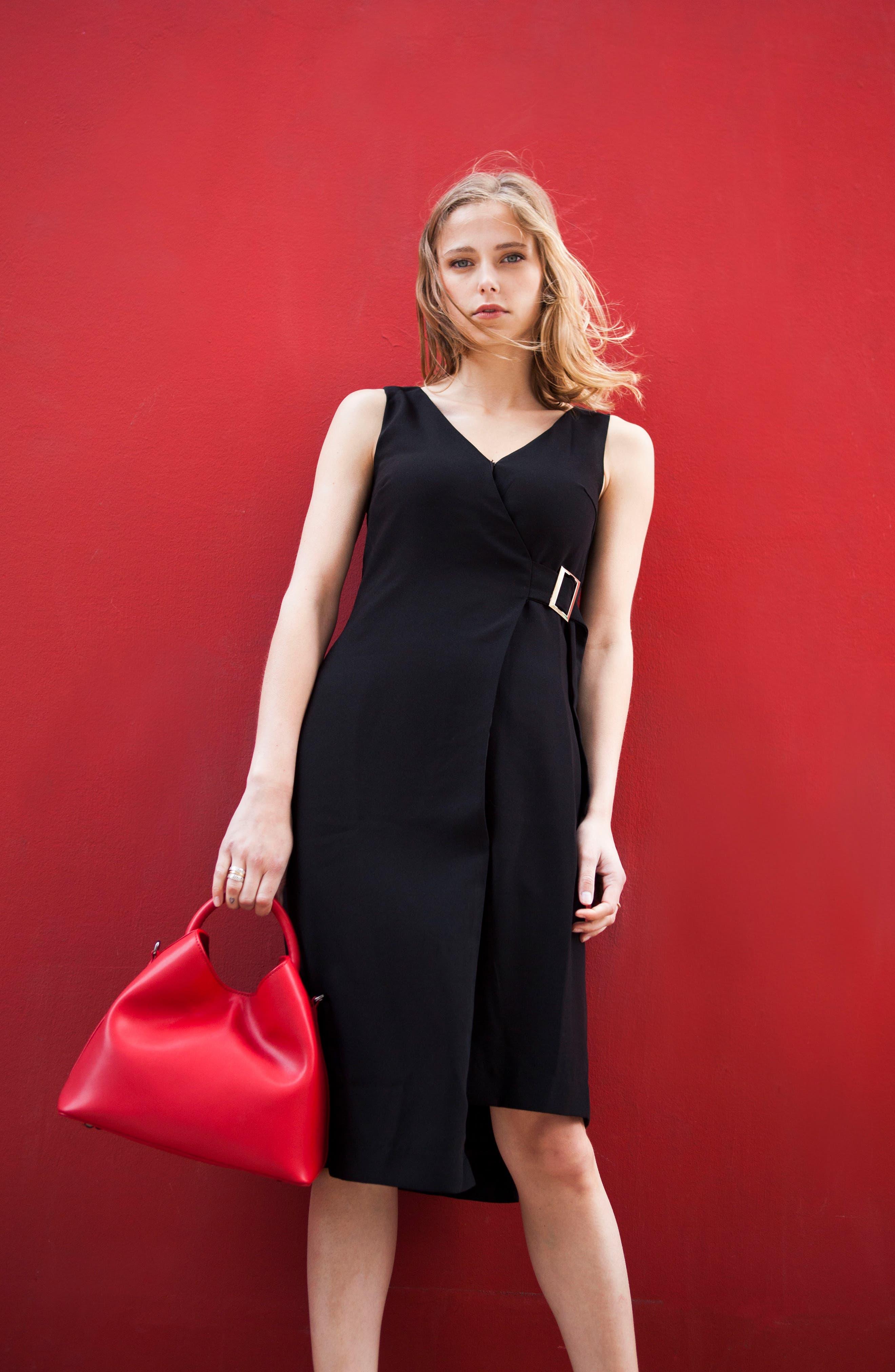 Alternate Image 8  - Elleme Raisin Leather Handbag